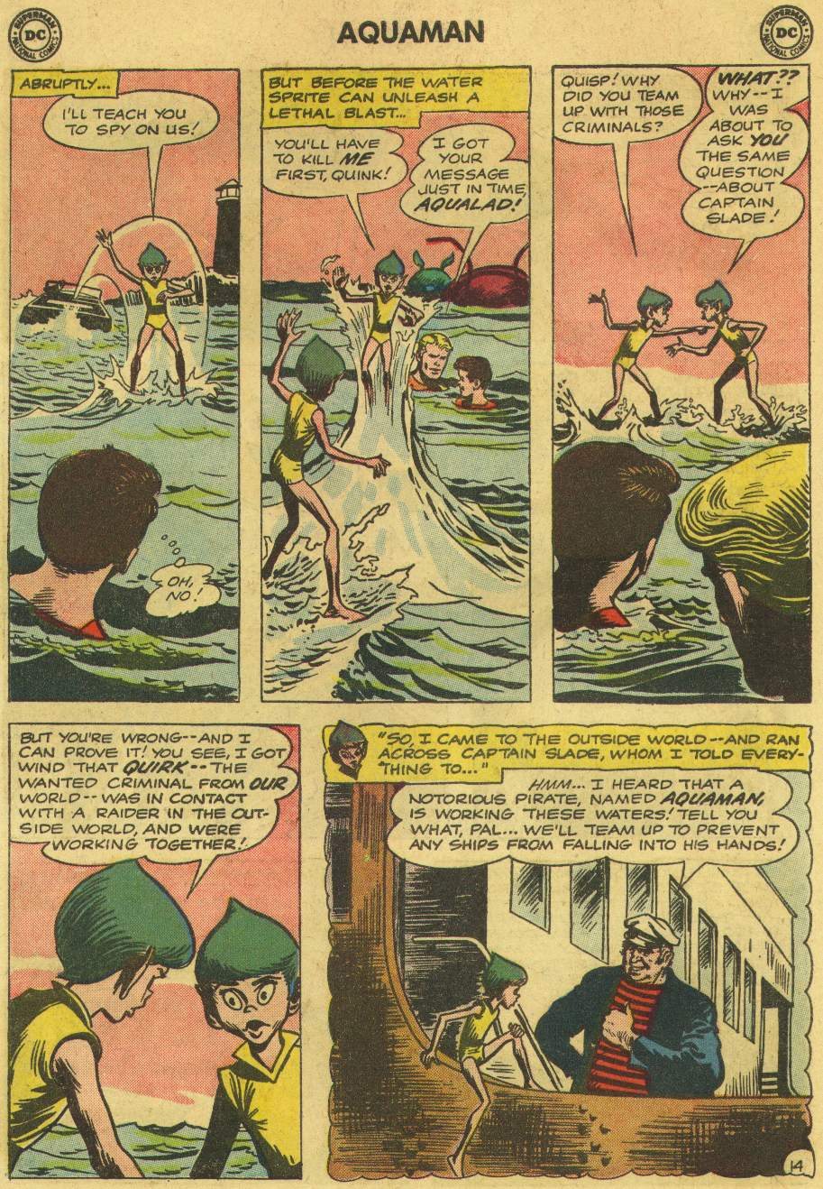 Read online Aquaman (1962) comic -  Issue #6 - 18