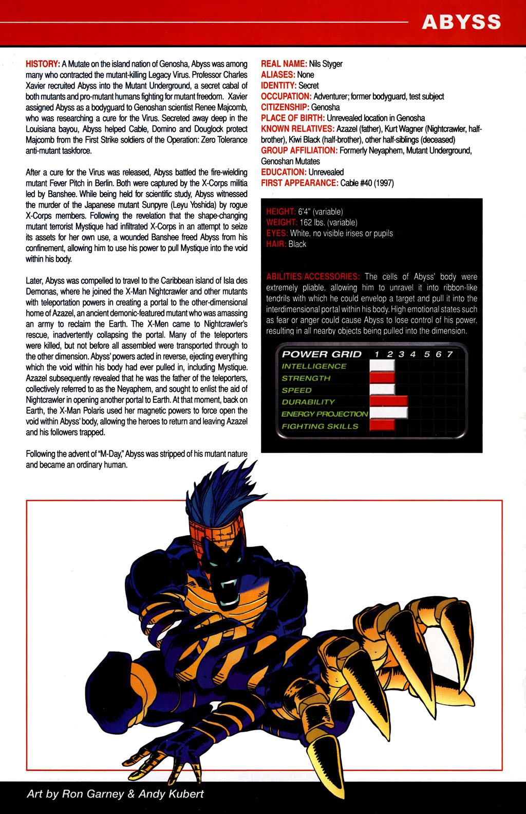 Read online All-New Official Handbook of the Marvel Universe A to Z comic -  Issue #1 - 5
