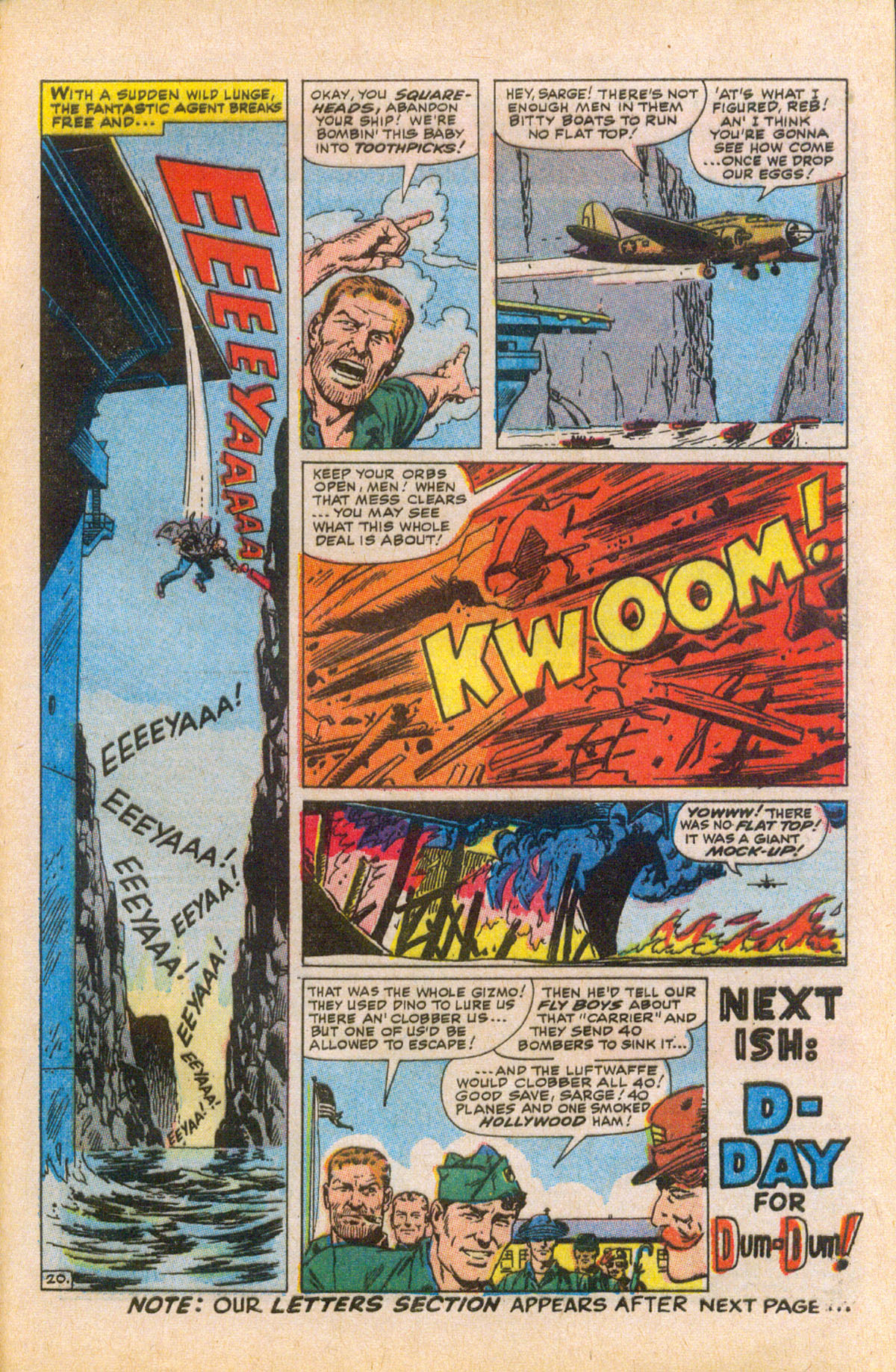 Read online Sgt. Fury comic -  Issue #58 - 29