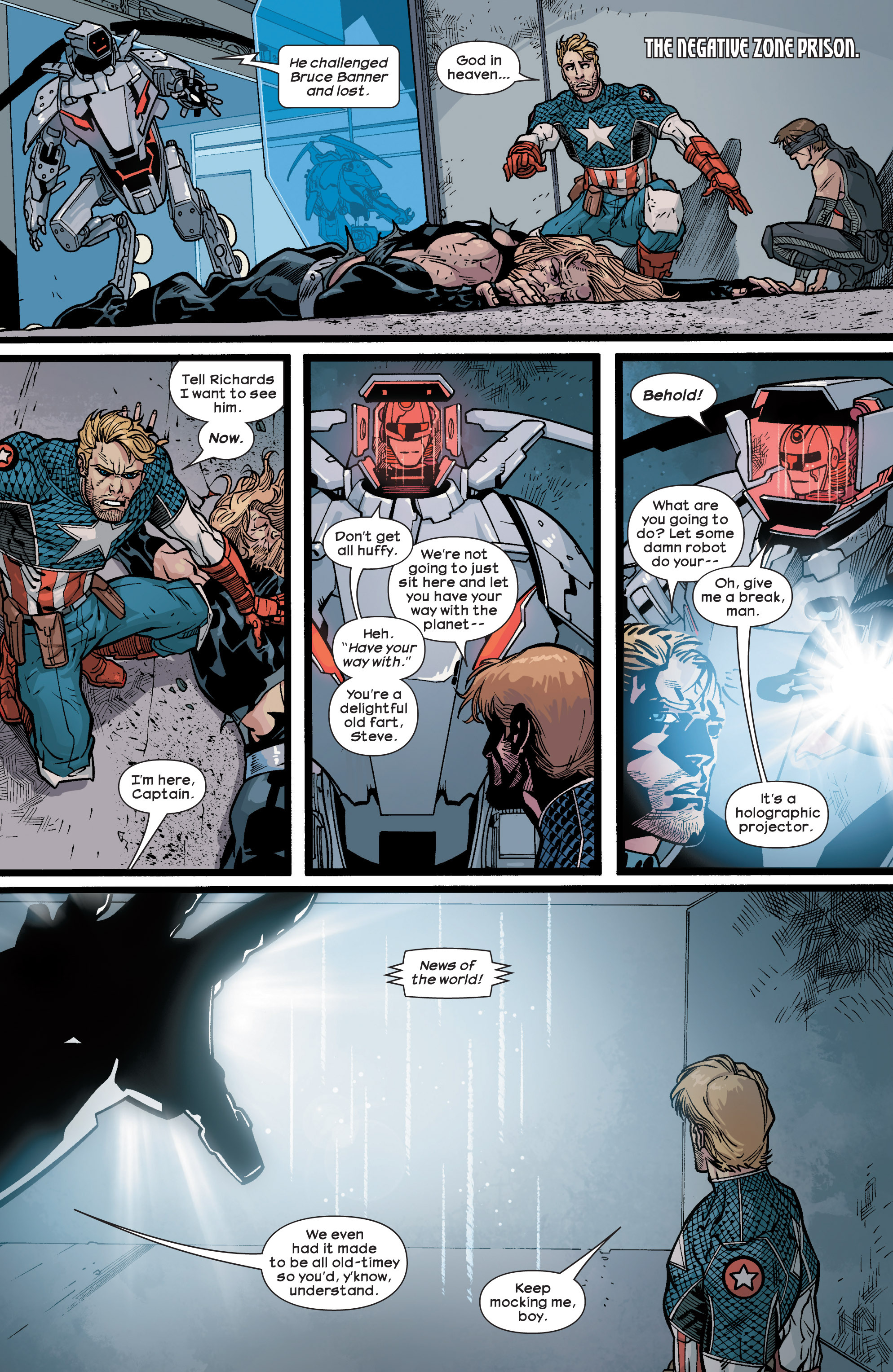 Read online Ultimate Comics Ultimates comic -  Issue #28 - 4