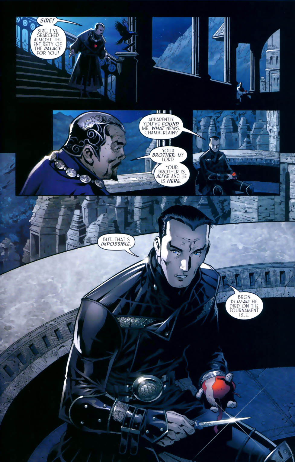 Read online Scion comic -  Issue #31 - 8
