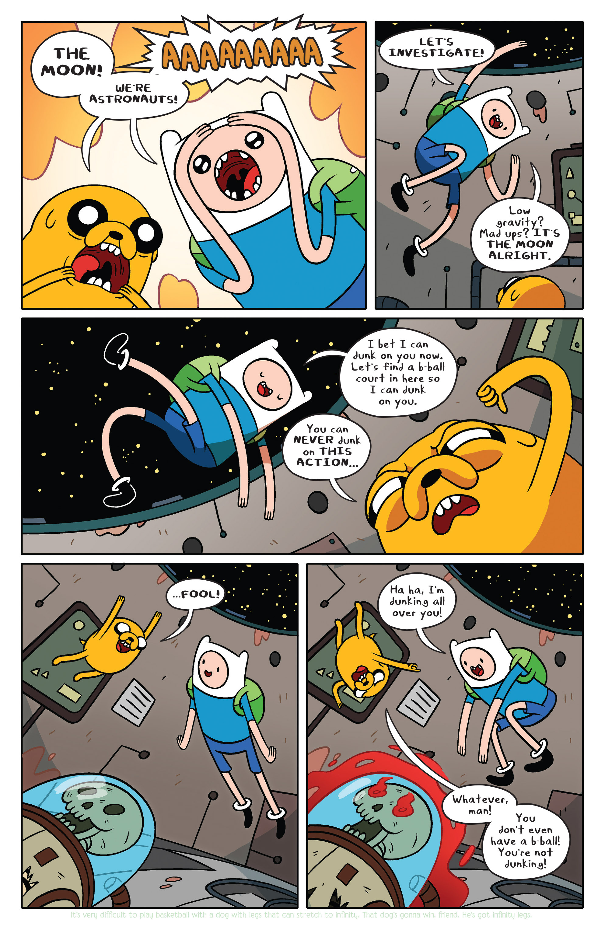 Read online Adventure Time comic -  Issue #36 - 5