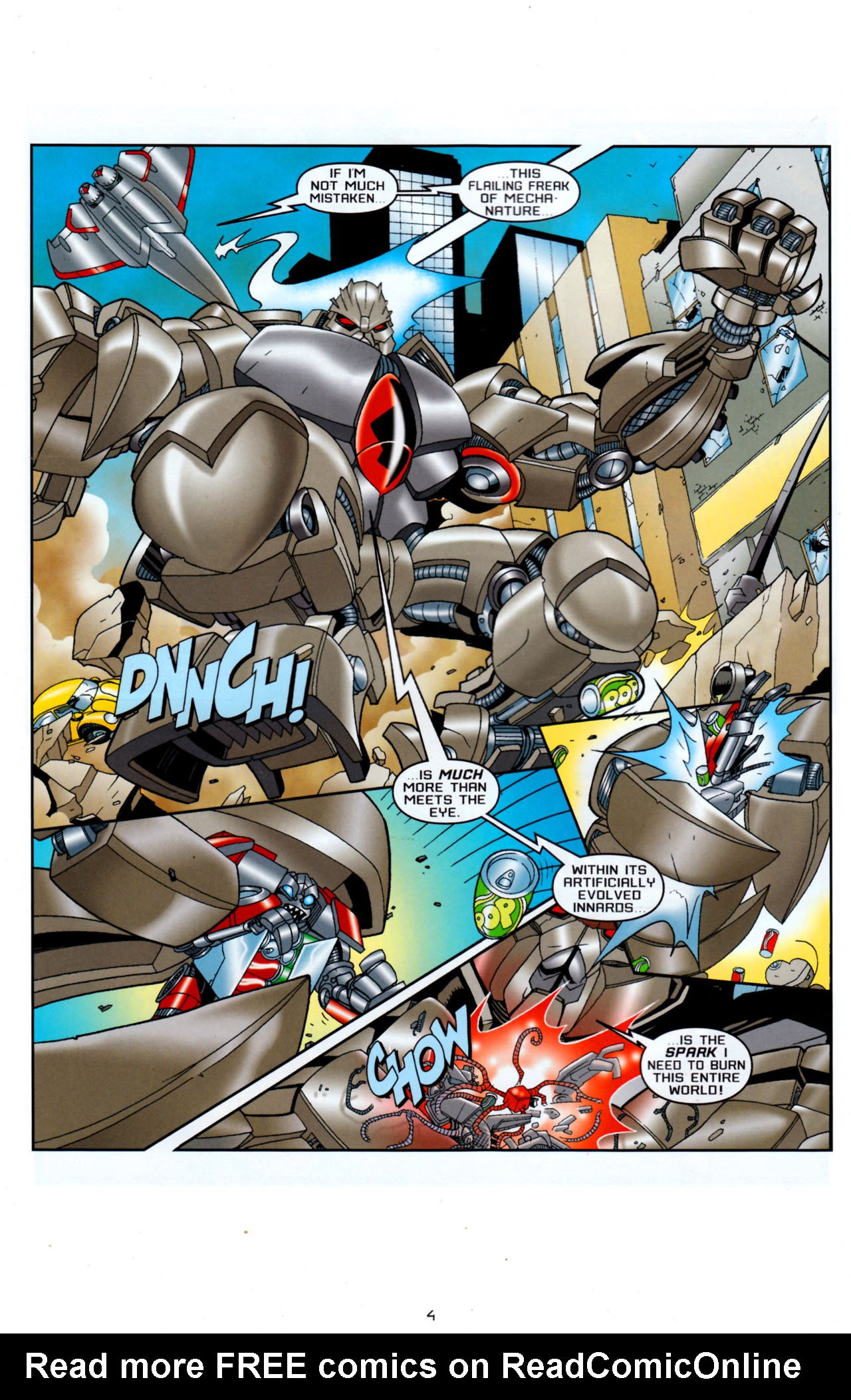 Read online Transformers: Saga of the Allspark comic -  Issue #4 - 7