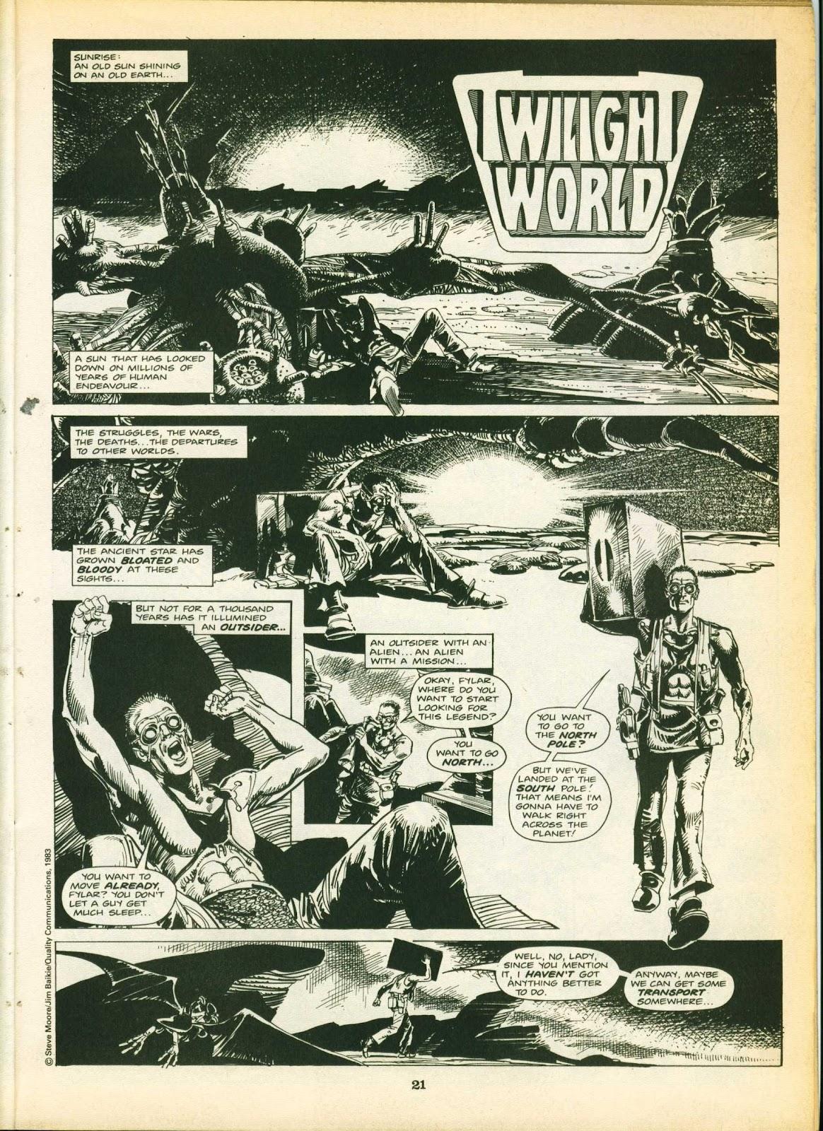 Warrior Issue #15 #16 - English 21