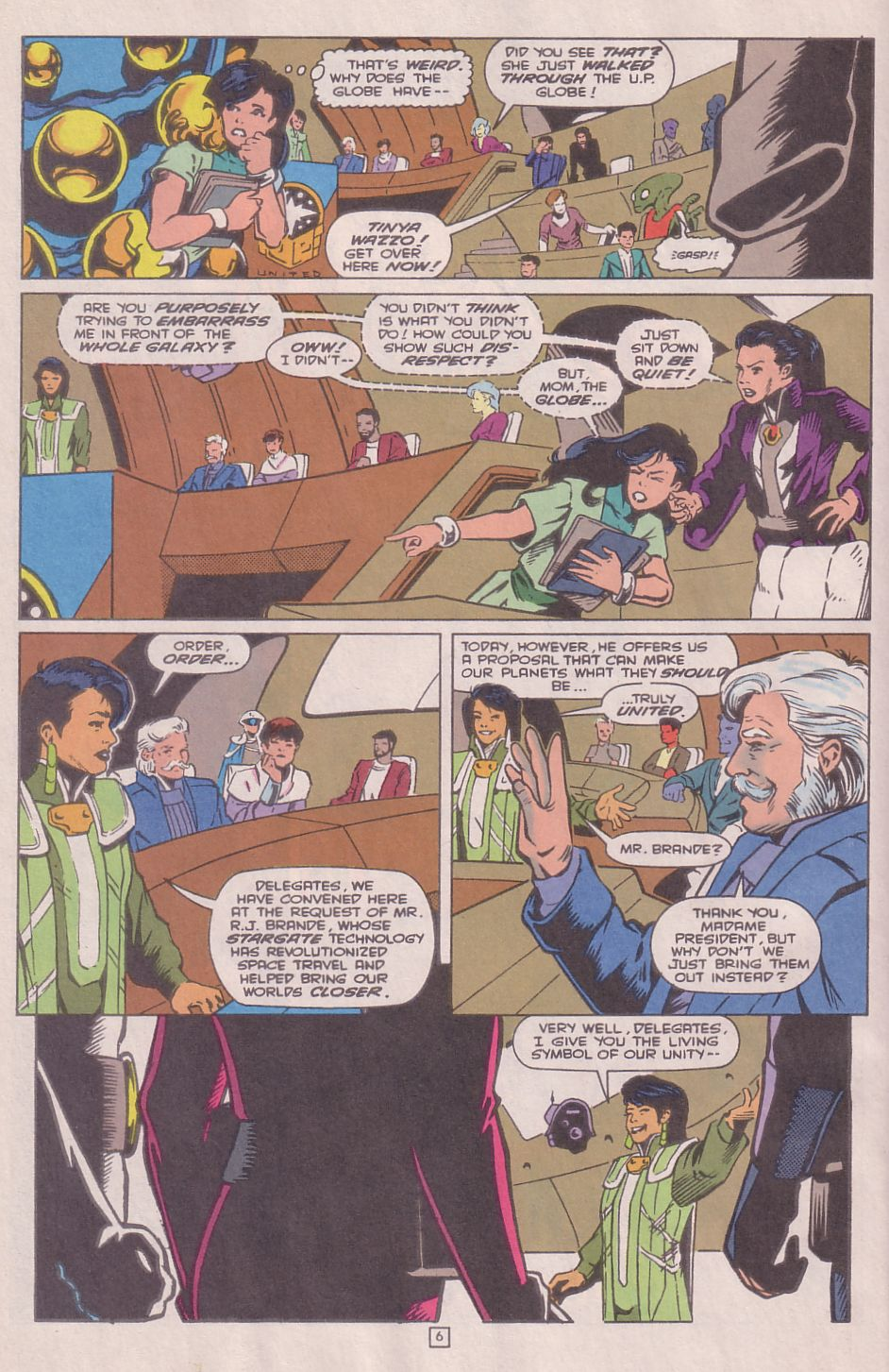Legionnaires issue 0 - Page 7