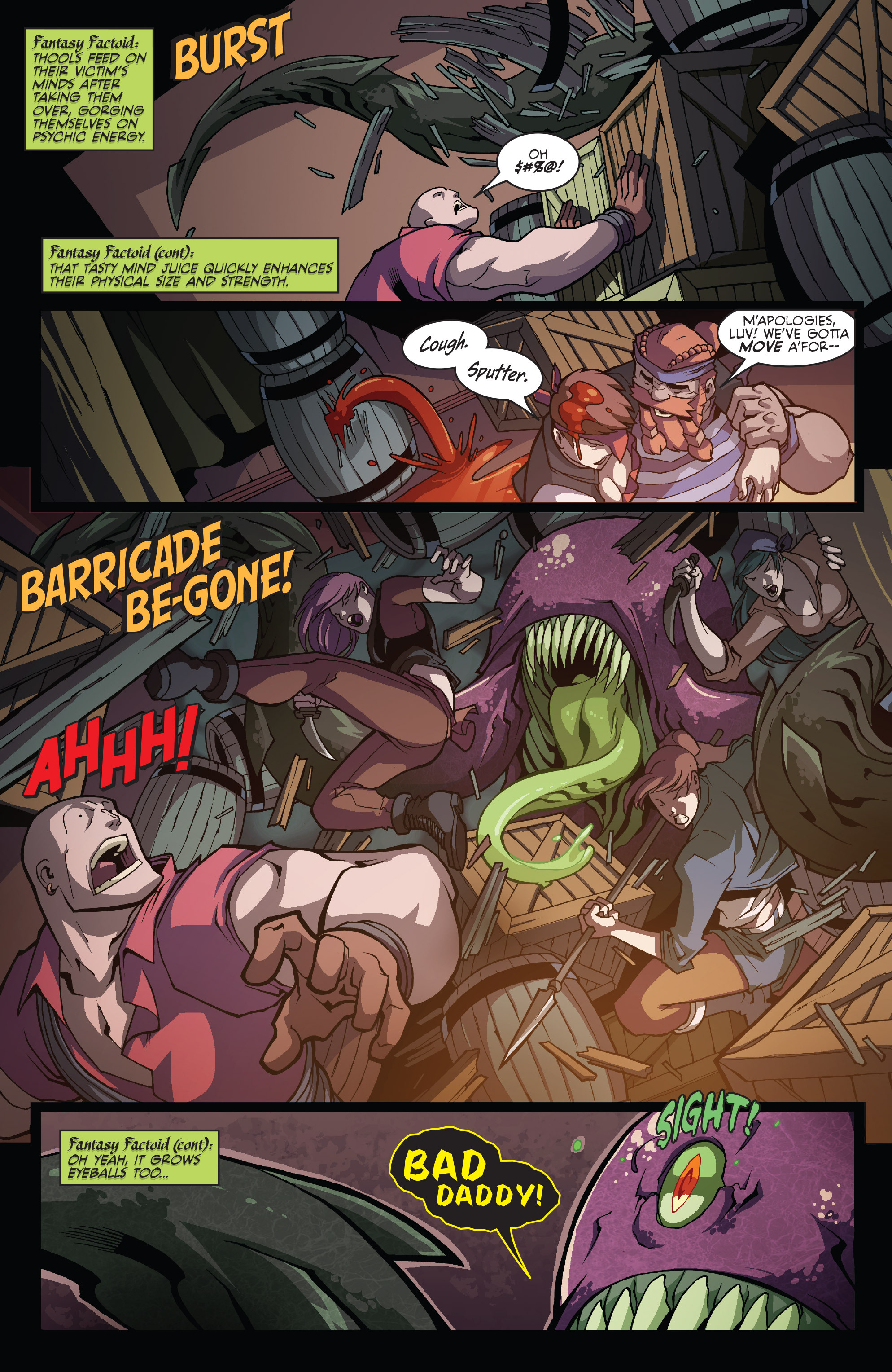 Read online Skullkickers comic -  Issue #16 - 13