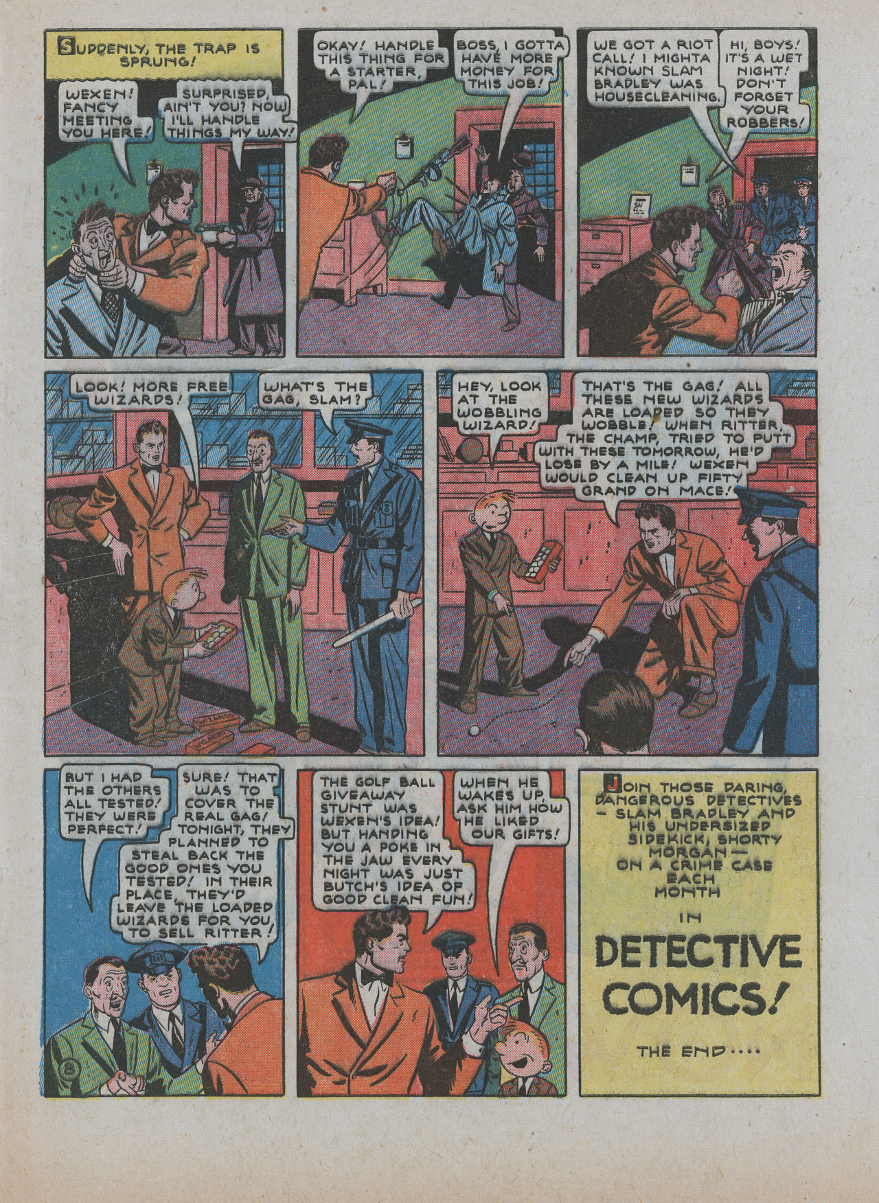 Read online Detective Comics (1937) comic -  Issue #63 - 65