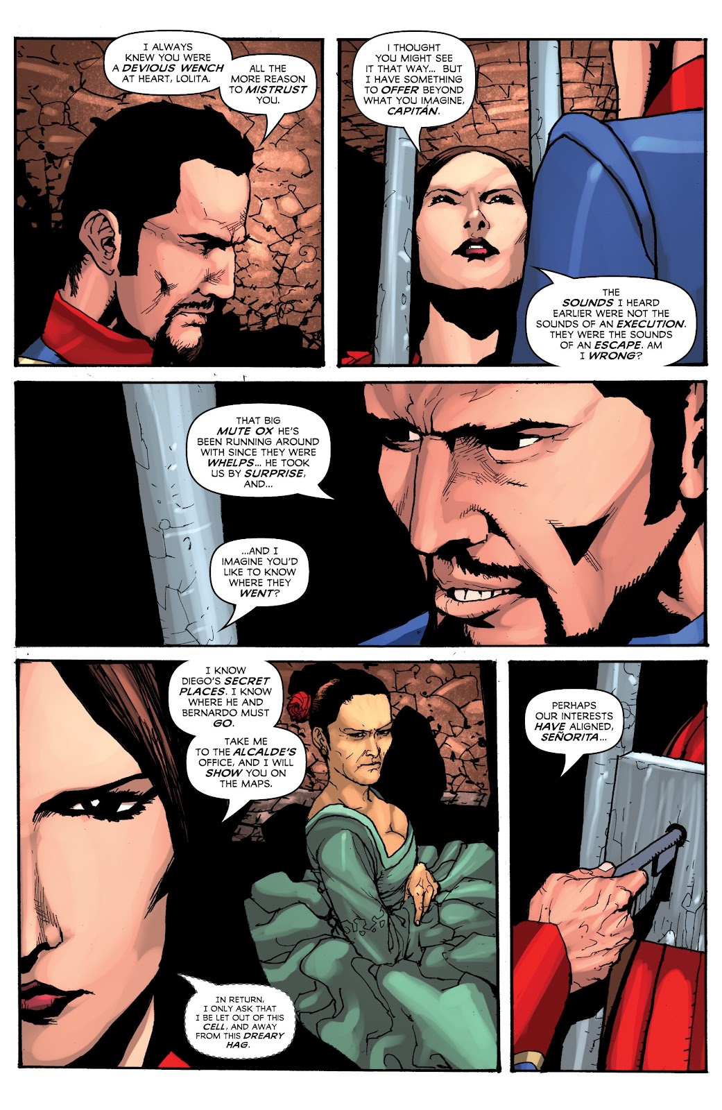 Read online Zorro: Swords of Hell comic -  Issue #3 - 9