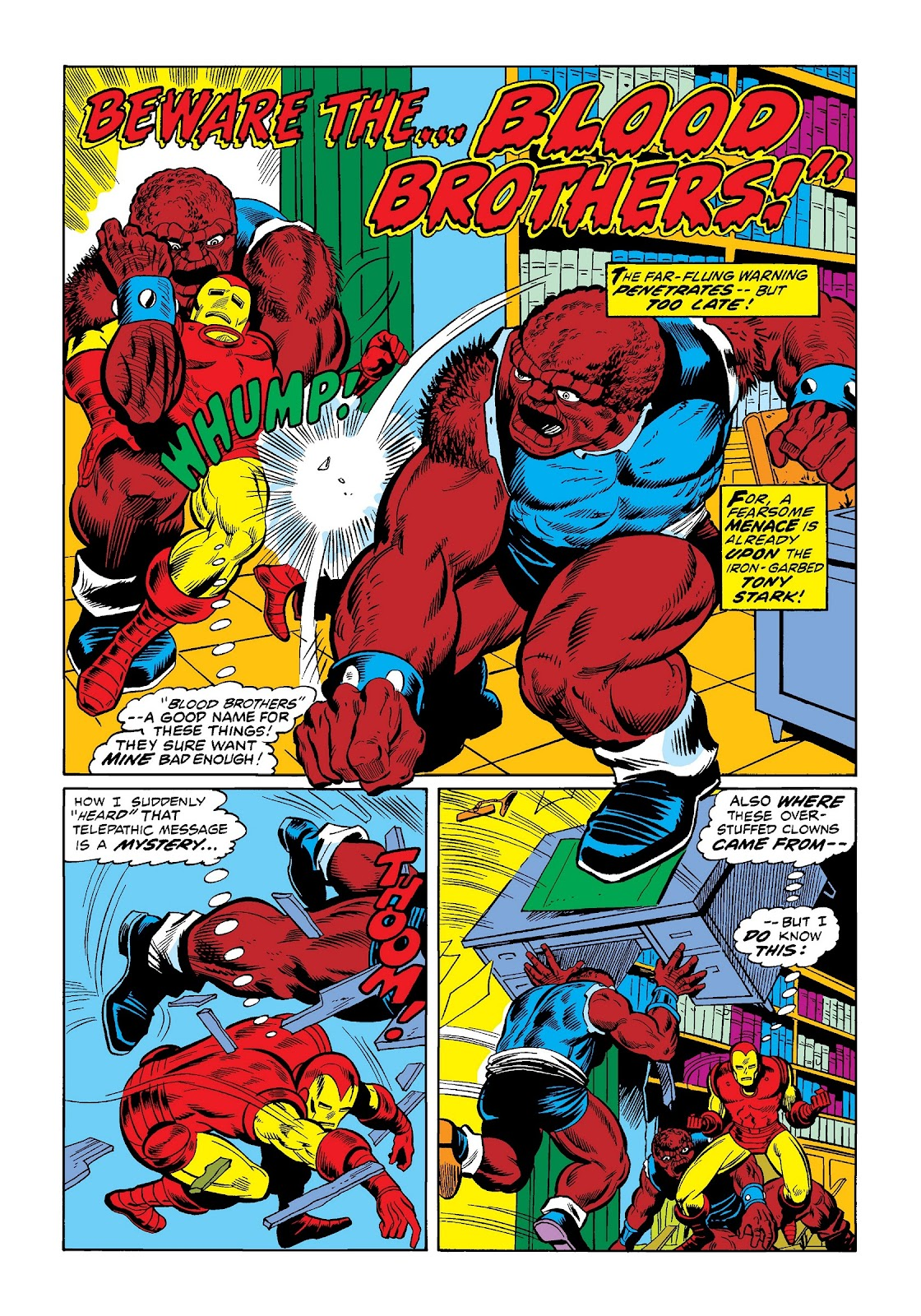 Read online Marvel Masterworks: The Invincible Iron Man comic -  Issue # TPB 9 (Part 1) - 30