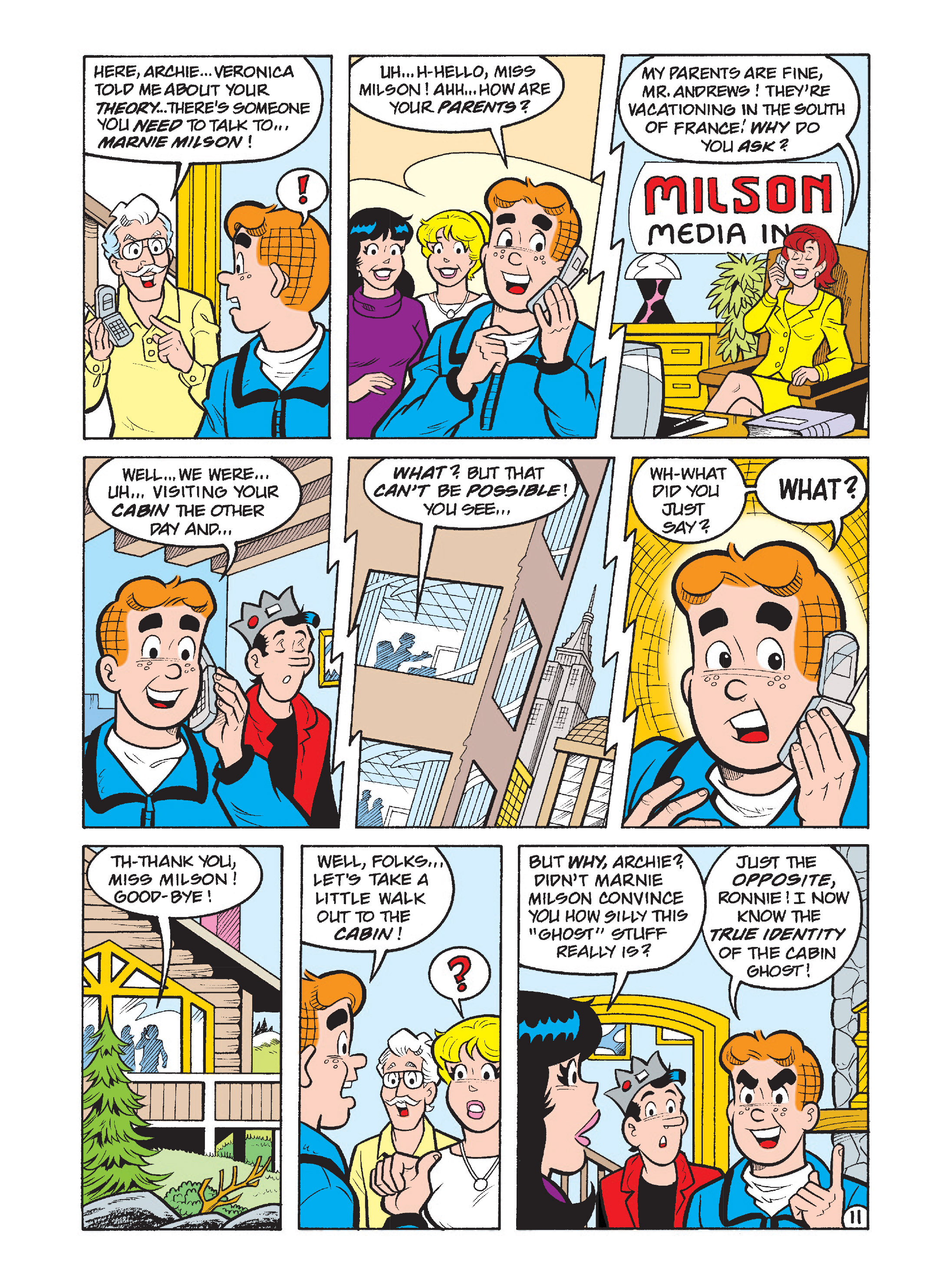 Read online Archie's Funhouse Double Digest comic -  Issue #1 - 12