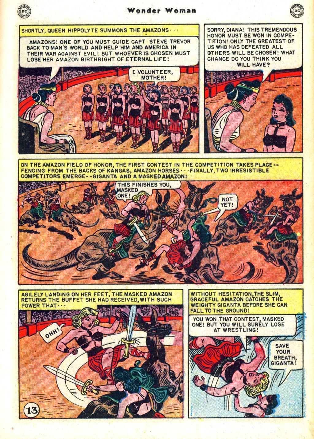Read online Wonder Woman (1942) comic -  Issue #45 - 17