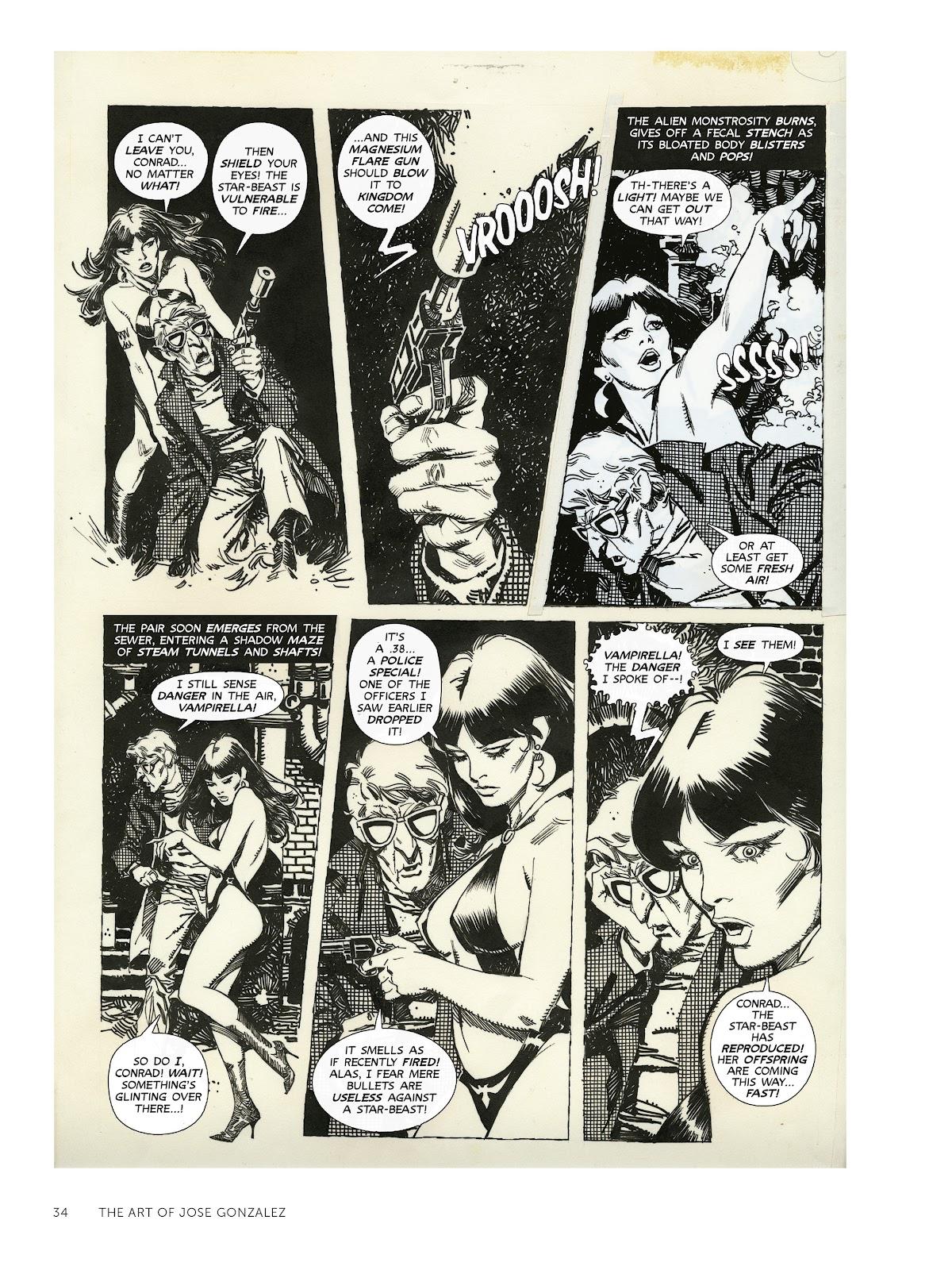 Read online The Art of Jose Gonzalez comic -  Issue # TPB (Part 1) - 35
