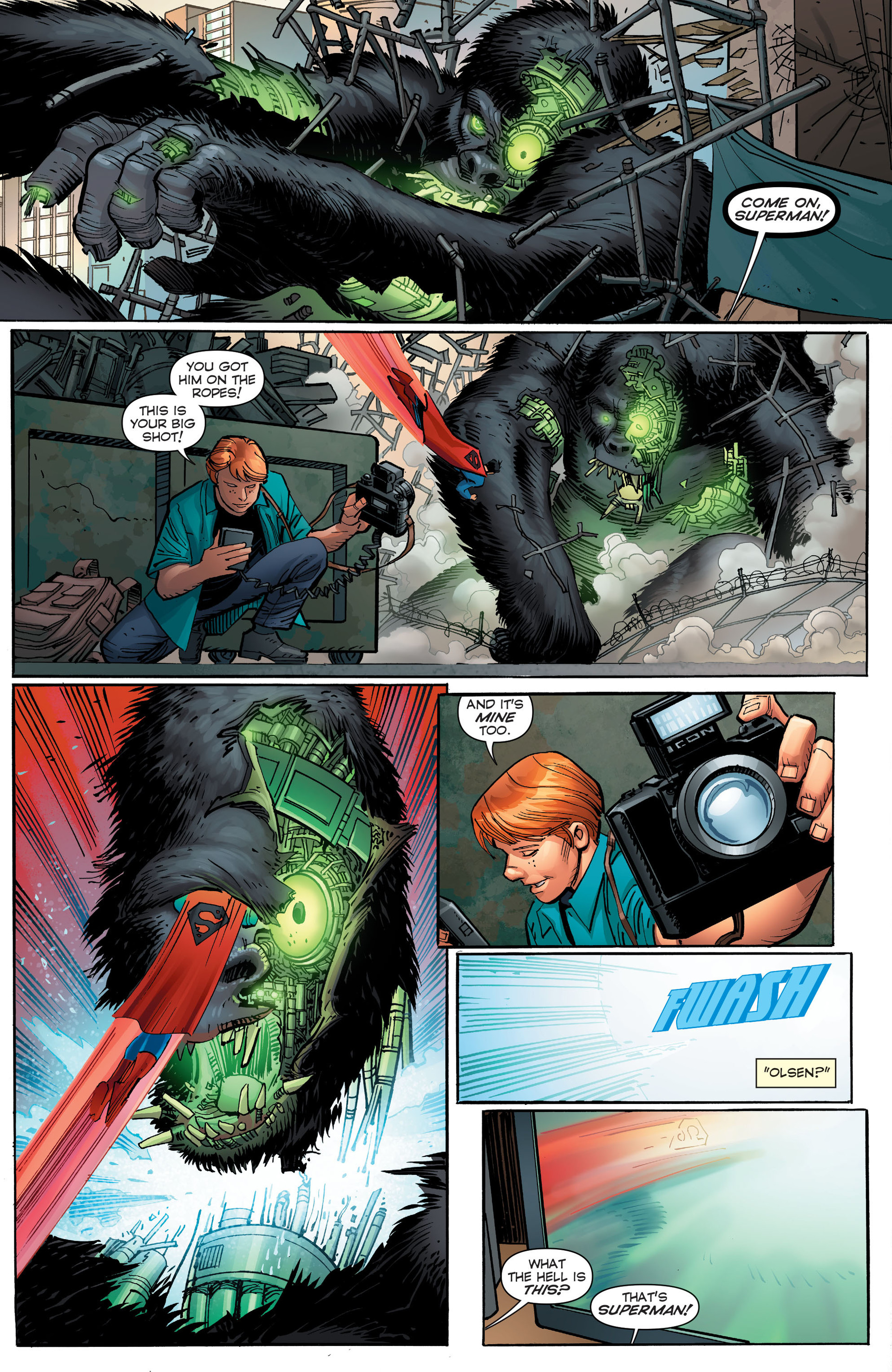 Read online Worlds' Finest comic -  Issue #23 - 24