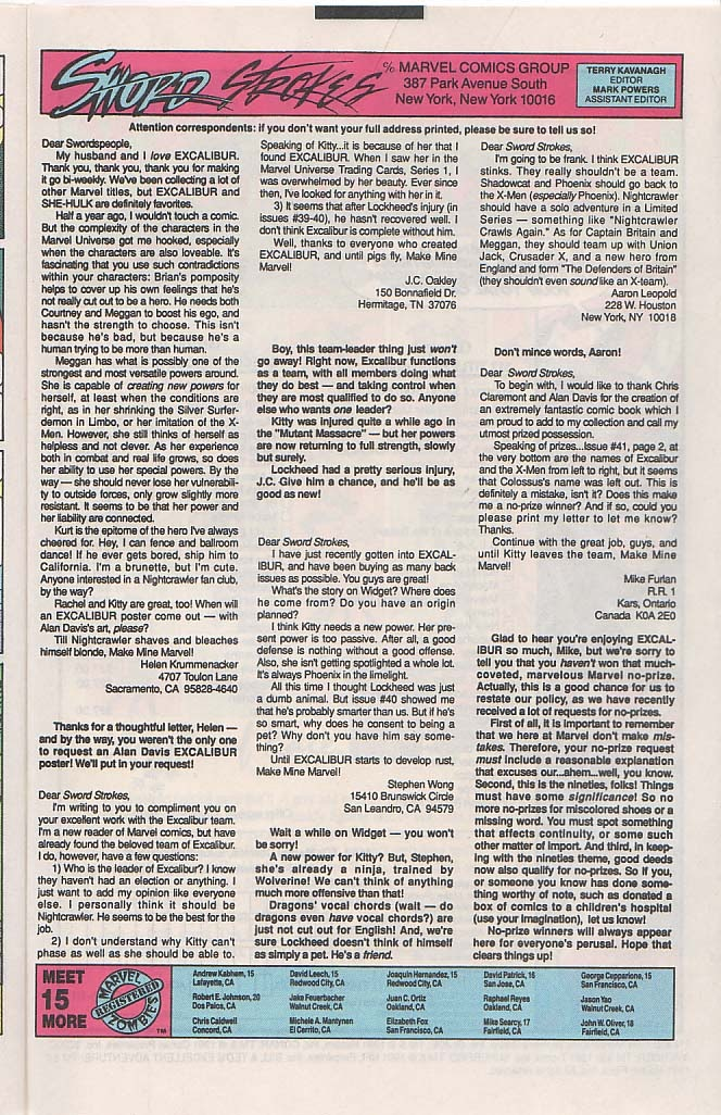 Excalibur (1988) issue 45 - Page 23