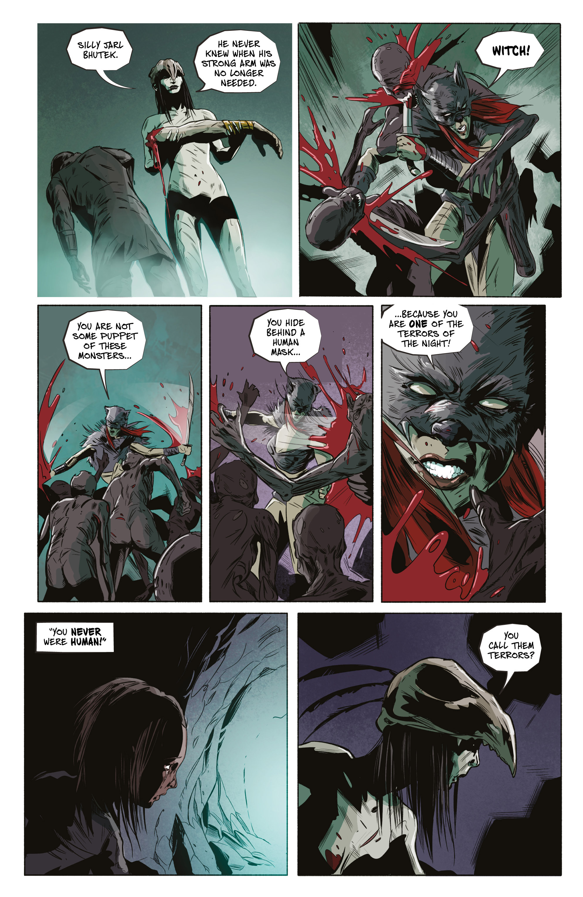 Read online Ghost Wolf comic -  Issue #4 - 21