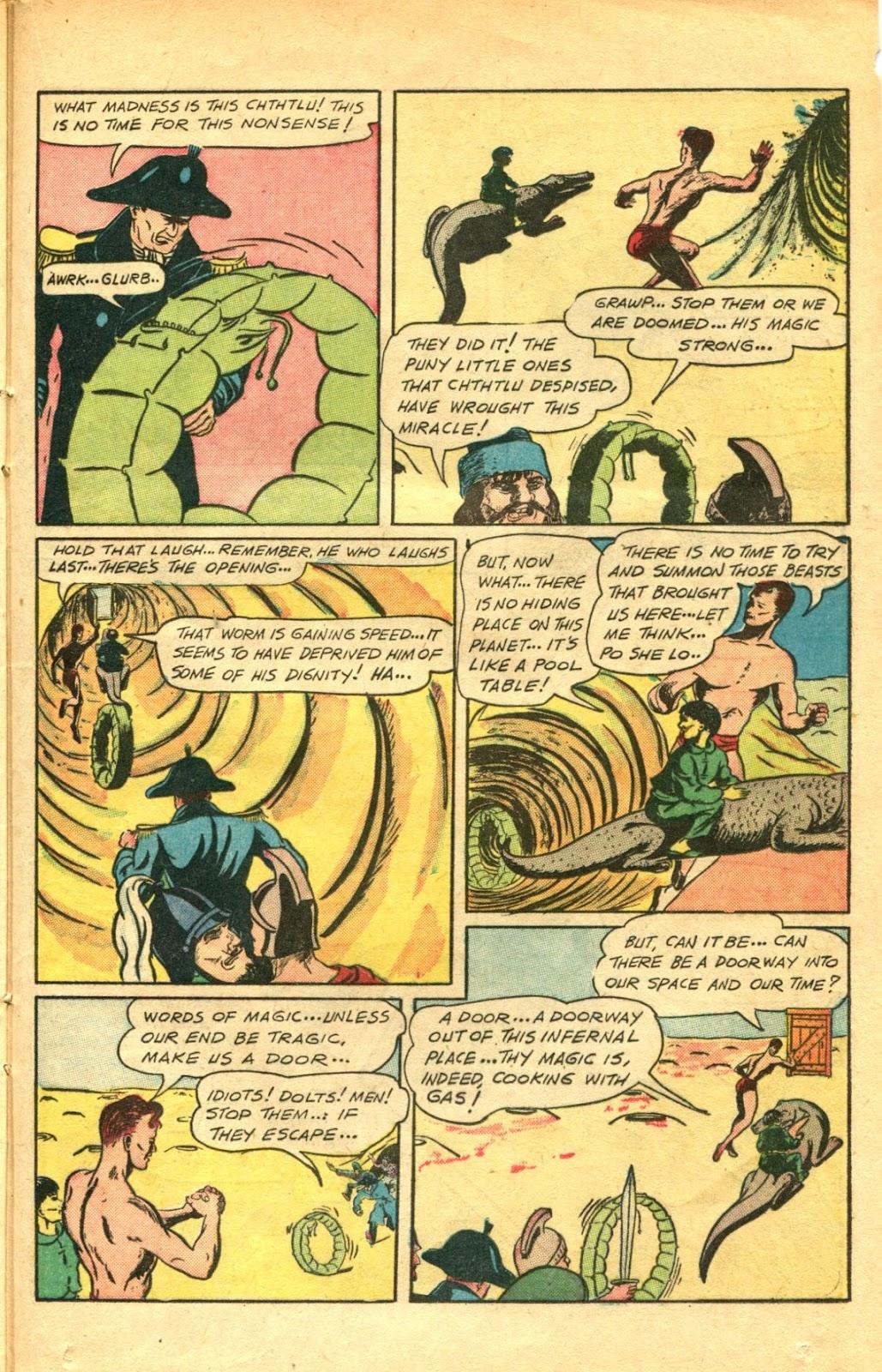Read online Super-Magician Comics comic -  Issue #48 - 33