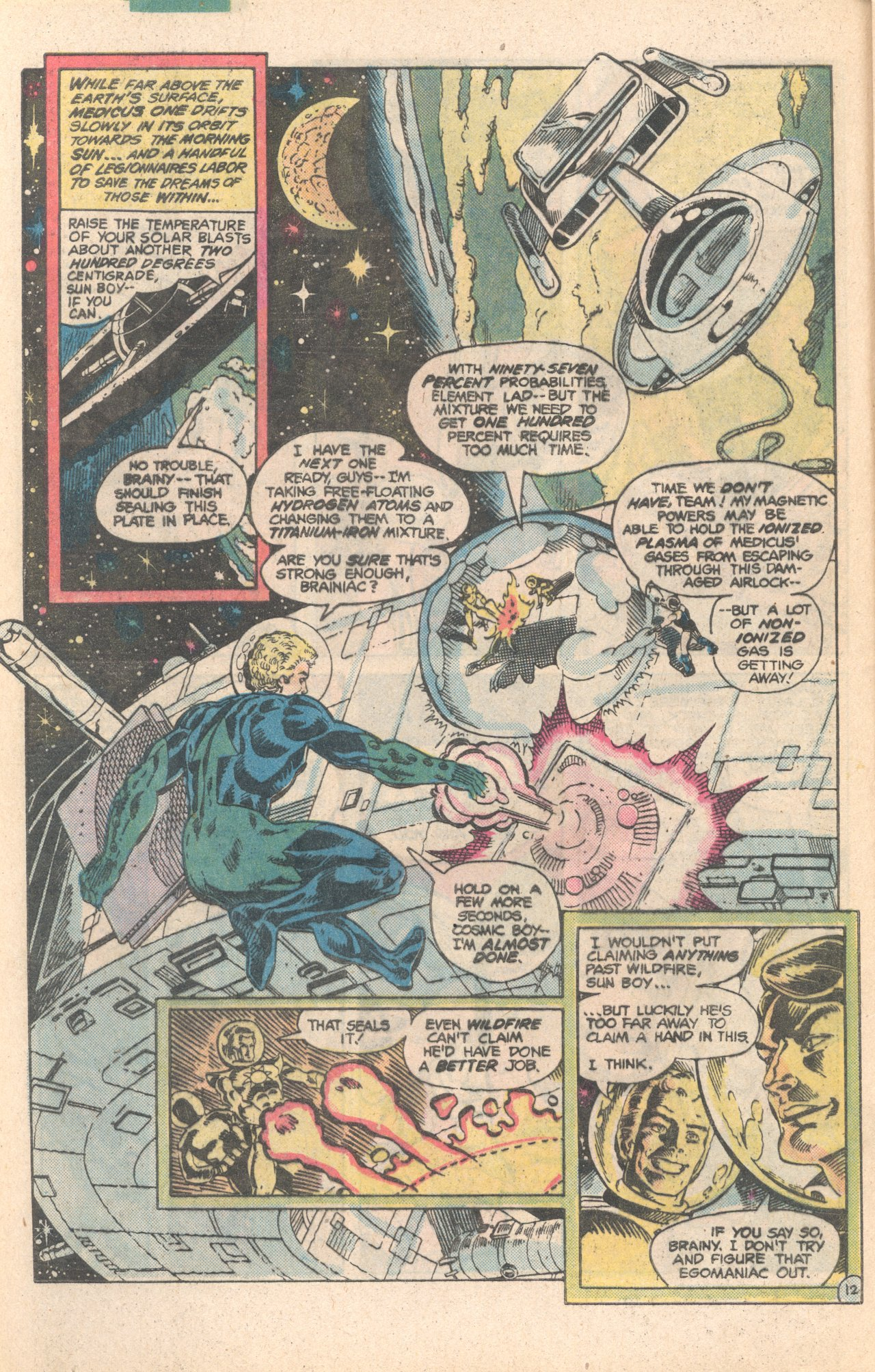 Legion of Super-Heroes (1980) 284 Page 12