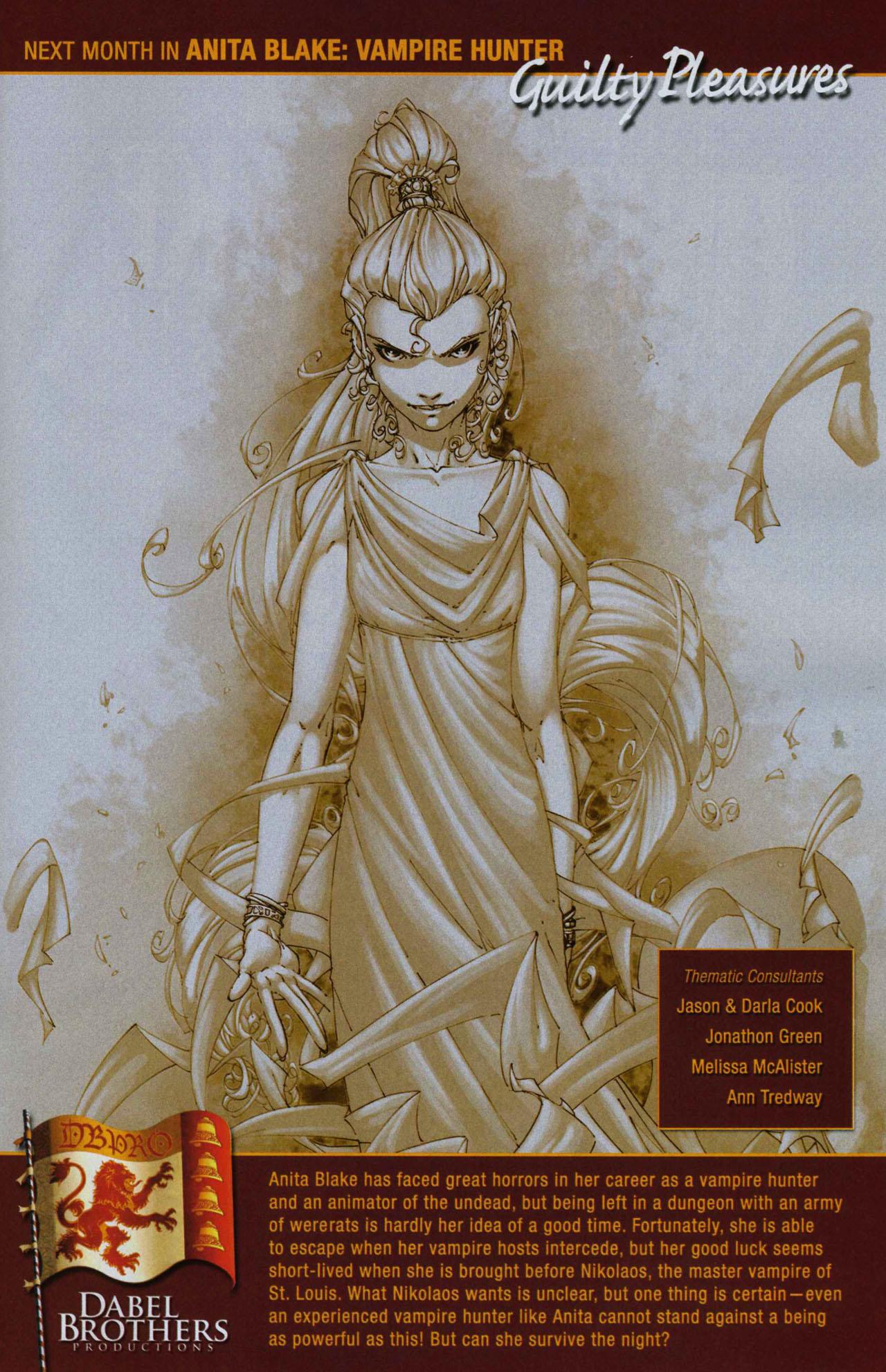 Read online Anita Blake, Vampire Hunter: Guilty Pleasures comic -  Issue #2 - 25