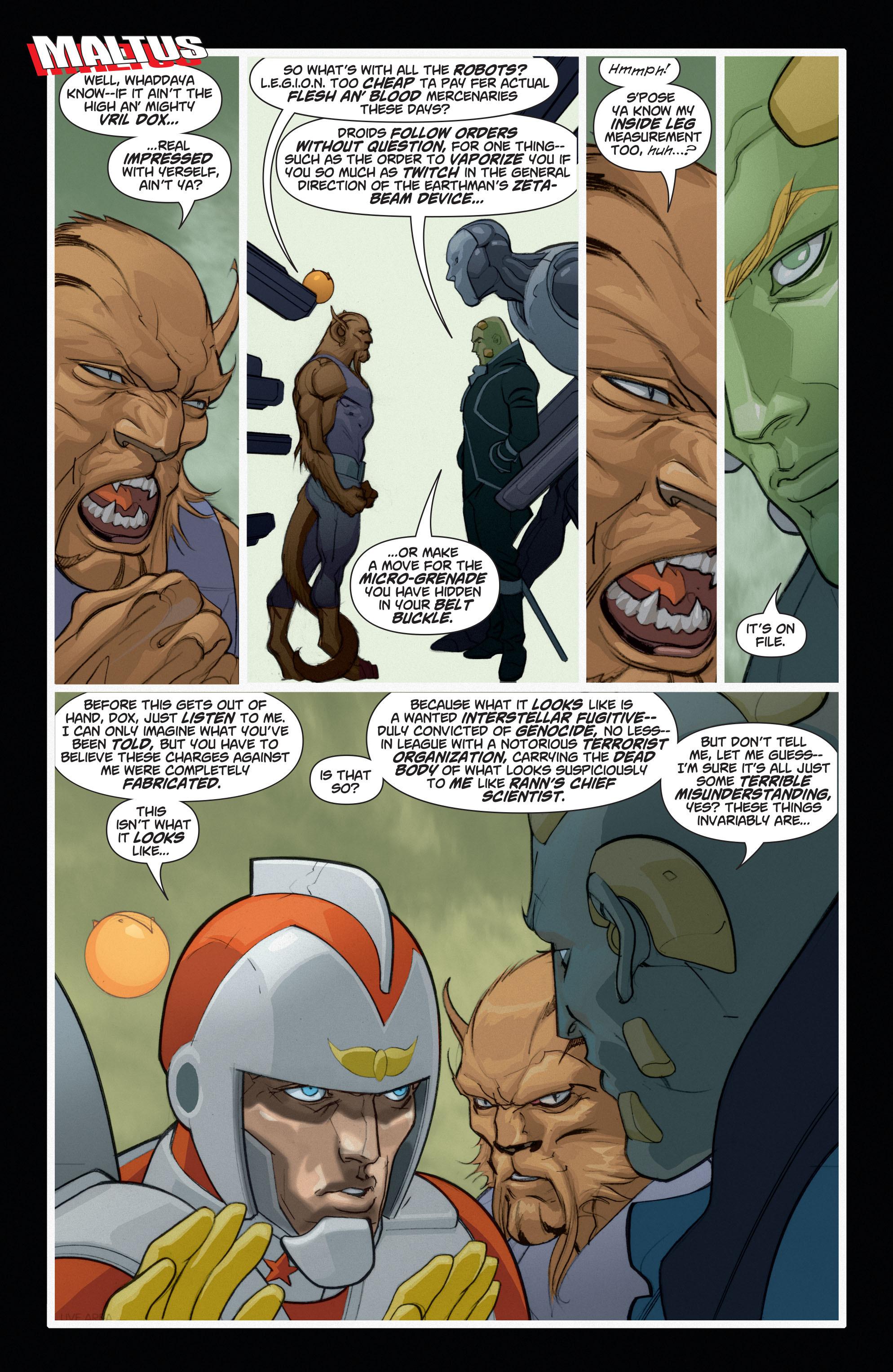 Read online Adam Strange (2004) comic -  Issue #6 - 17