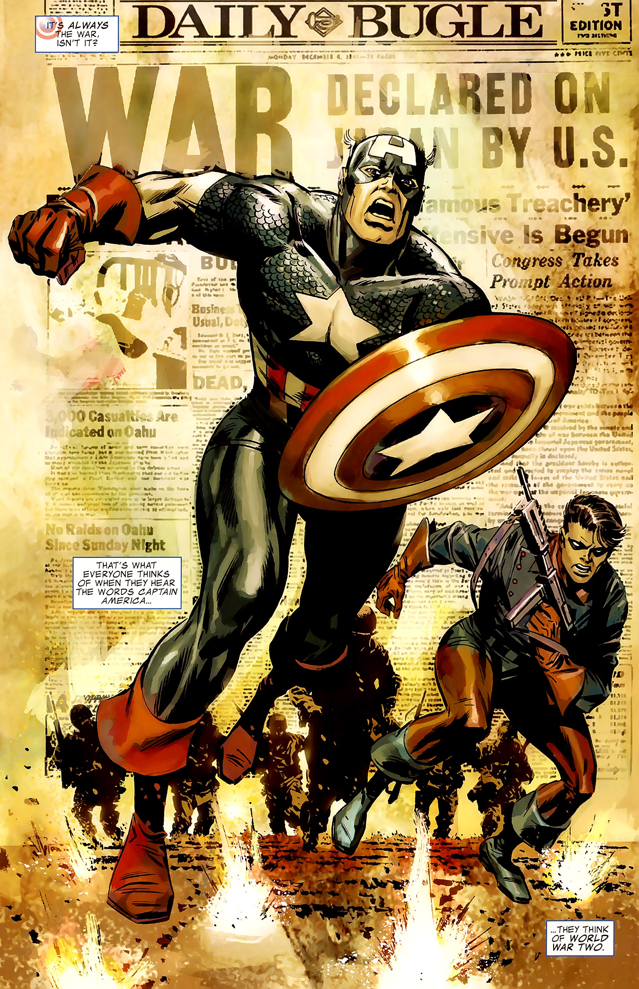 Read online Captain America Reborn: Who Will Wield the Shield? comic -  Issue # Full - 3