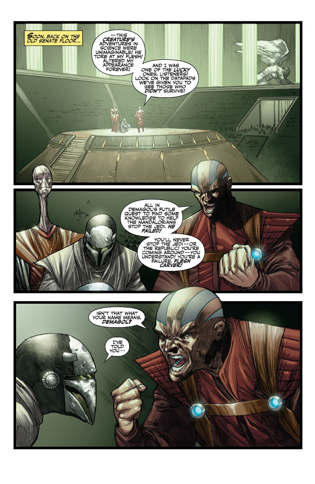 Read online Star Wars Legends: The Old Republic - Epic Collection comic -  Issue # TPB 3 (Part 3) - 27
