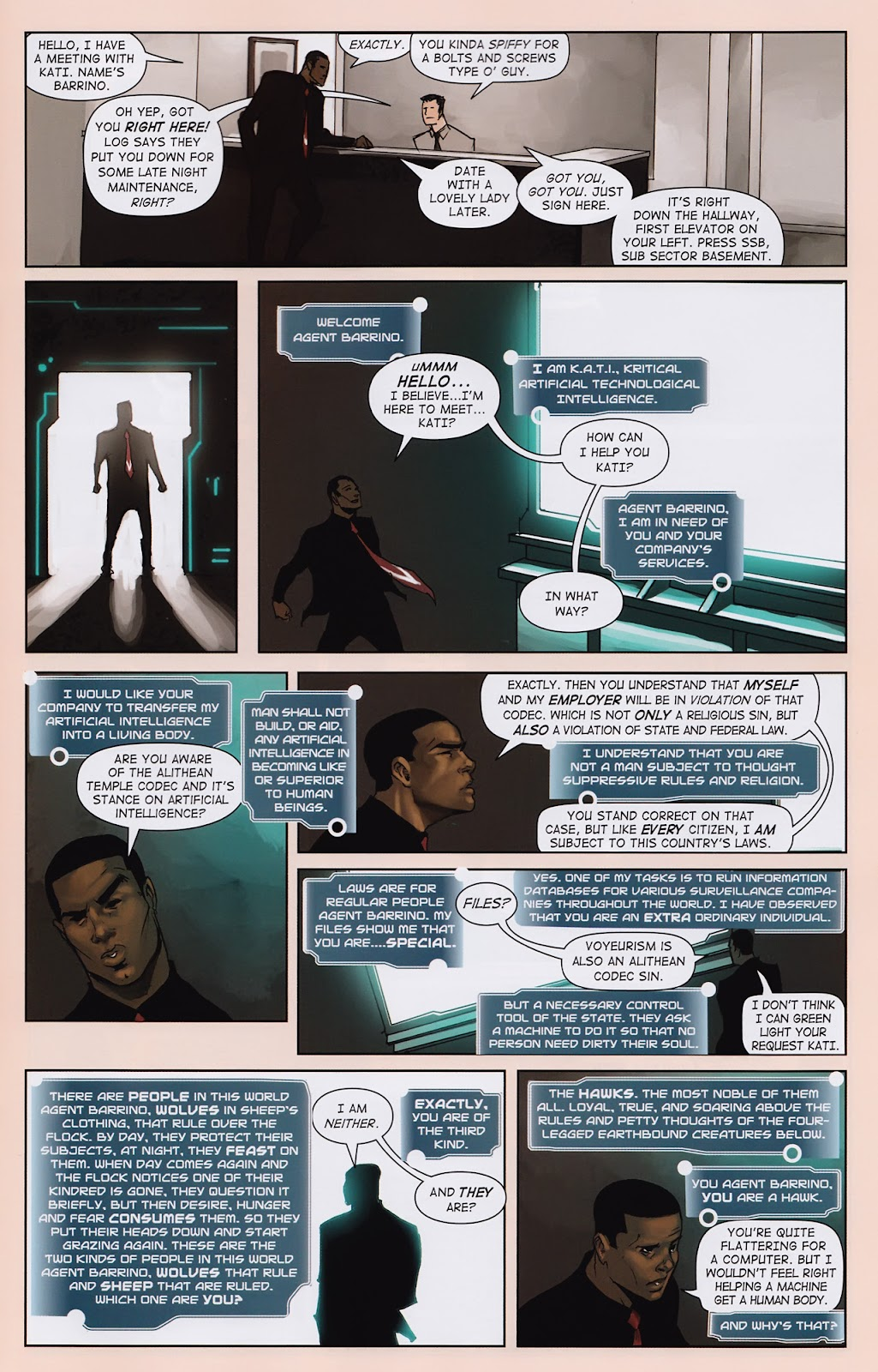 Read online Vescell comic -  Issue #2 - 21