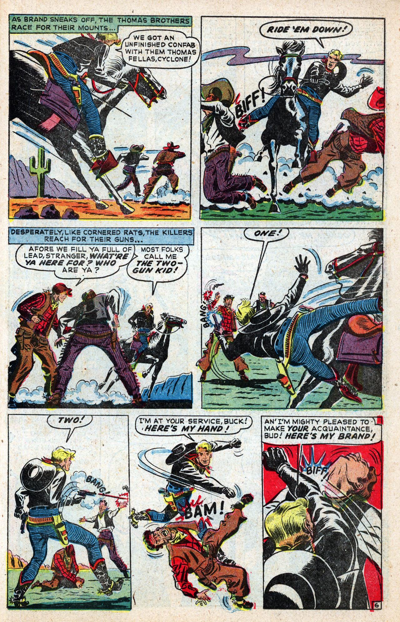 Read online Two-Gun Kid comic -  Issue #4 - 33