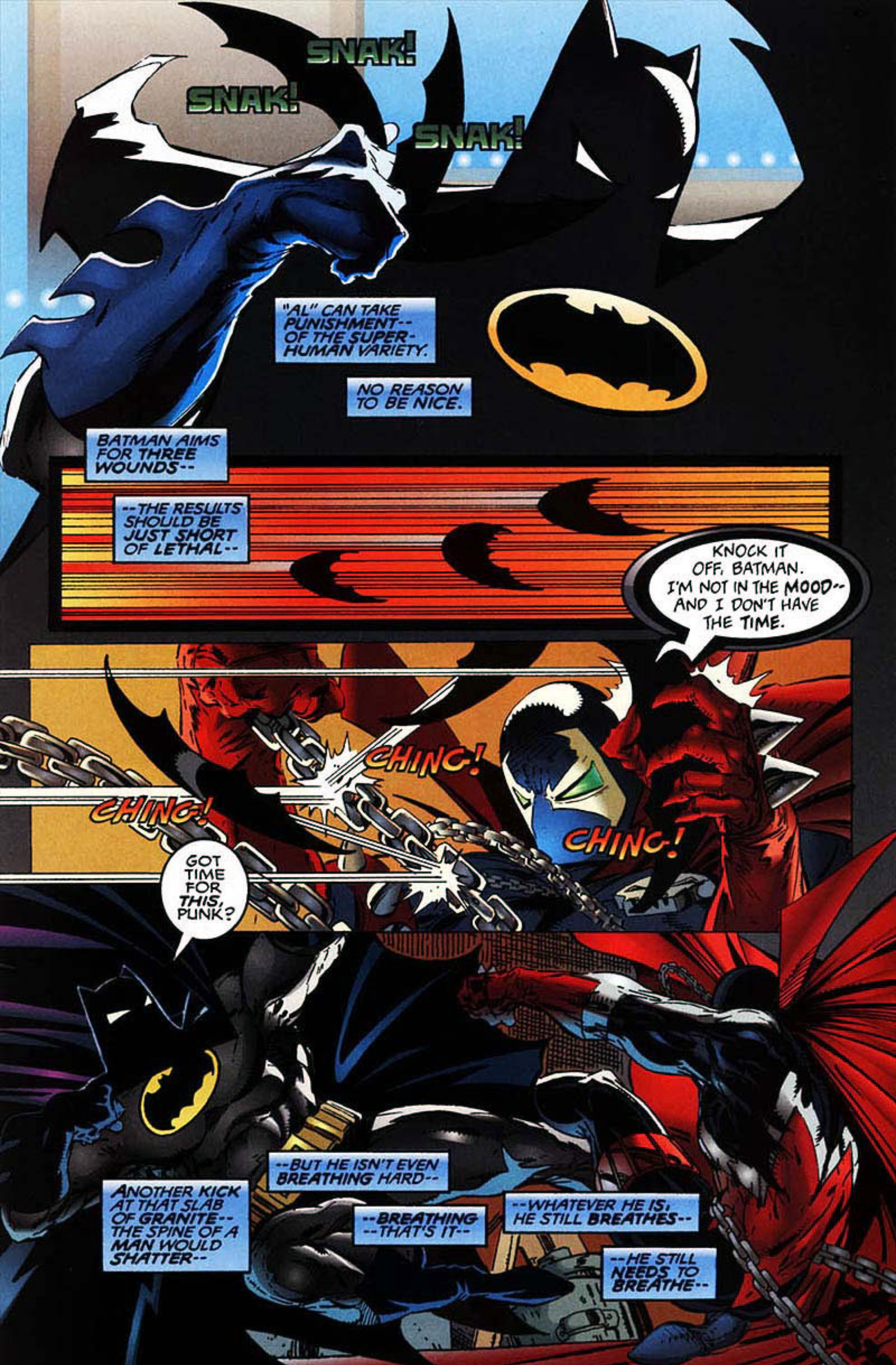 Read online Spawn-Batman comic -  Issue # Full - 20
