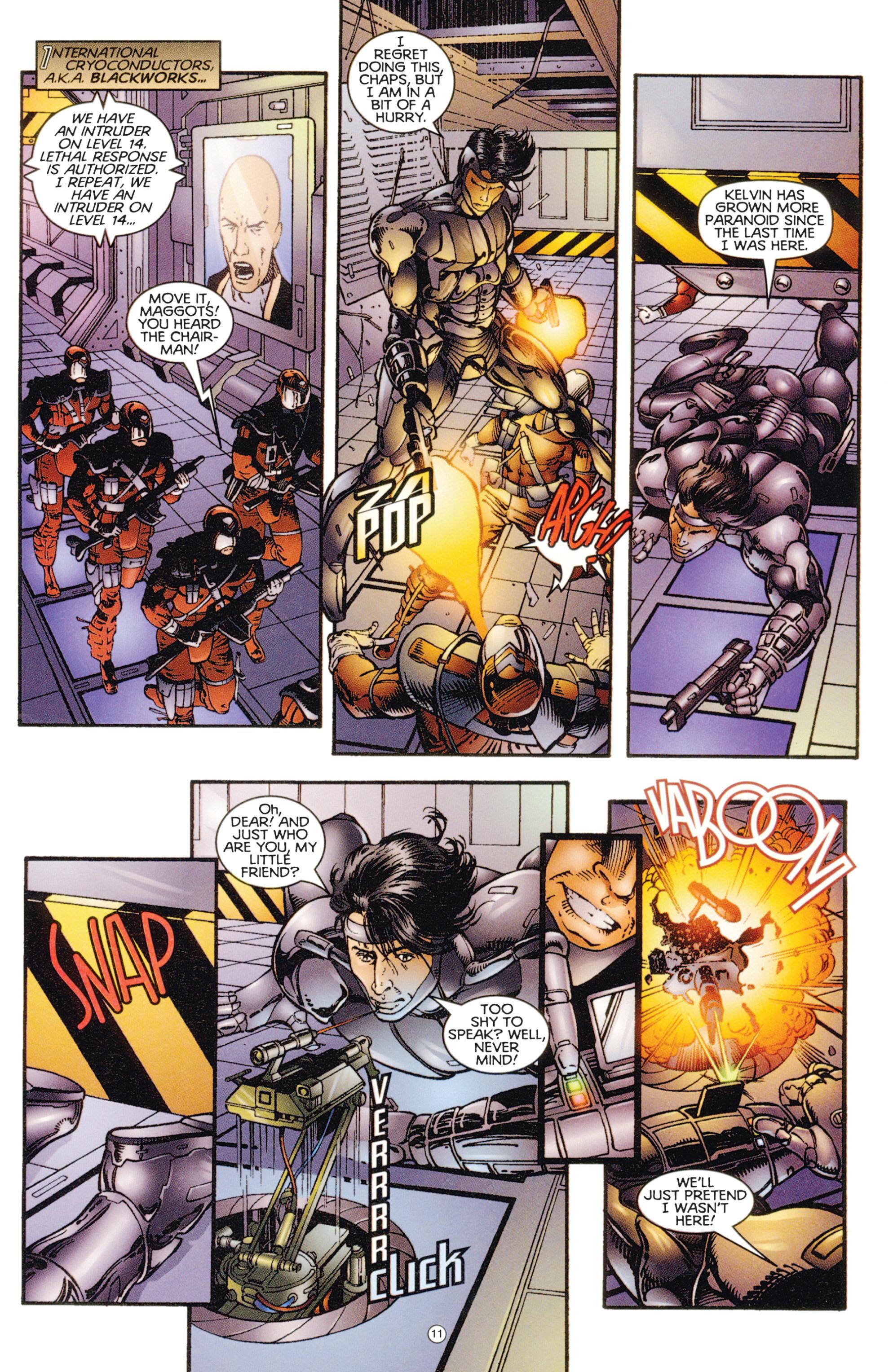 Read online Eternal Warriors comic -  Issue # Issue Digital Alchemy - 10