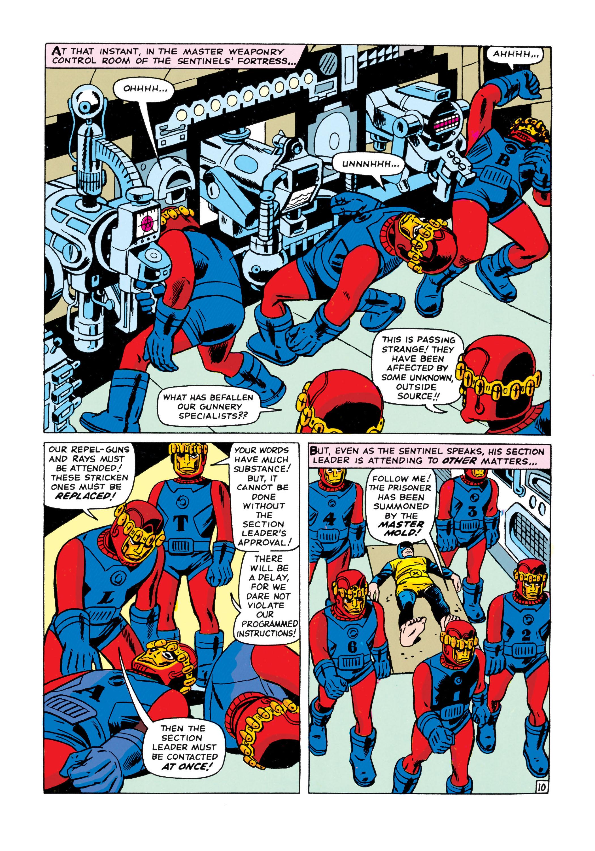 Read online Uncanny X-Men (1963) comic -  Issue #15 - 11