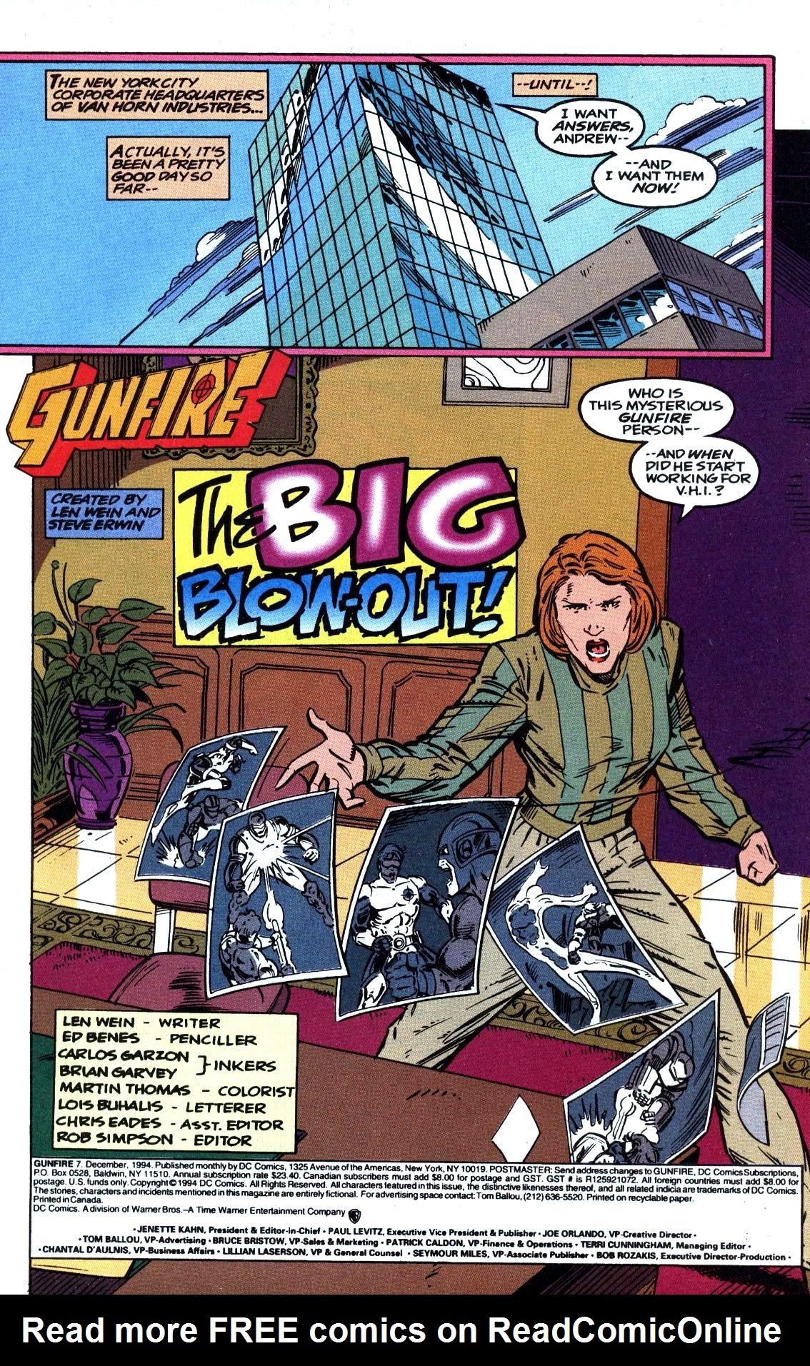 Read online Gunfire comic -  Issue #7 - 3