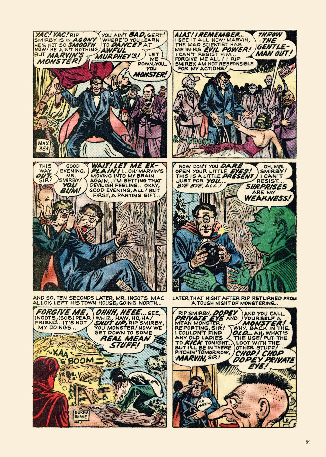 Read online Sincerest Form of Parody: The Best 1950s MAD-Inspired Satirical Comics comic -  Issue # TPB (Part 1) - 90