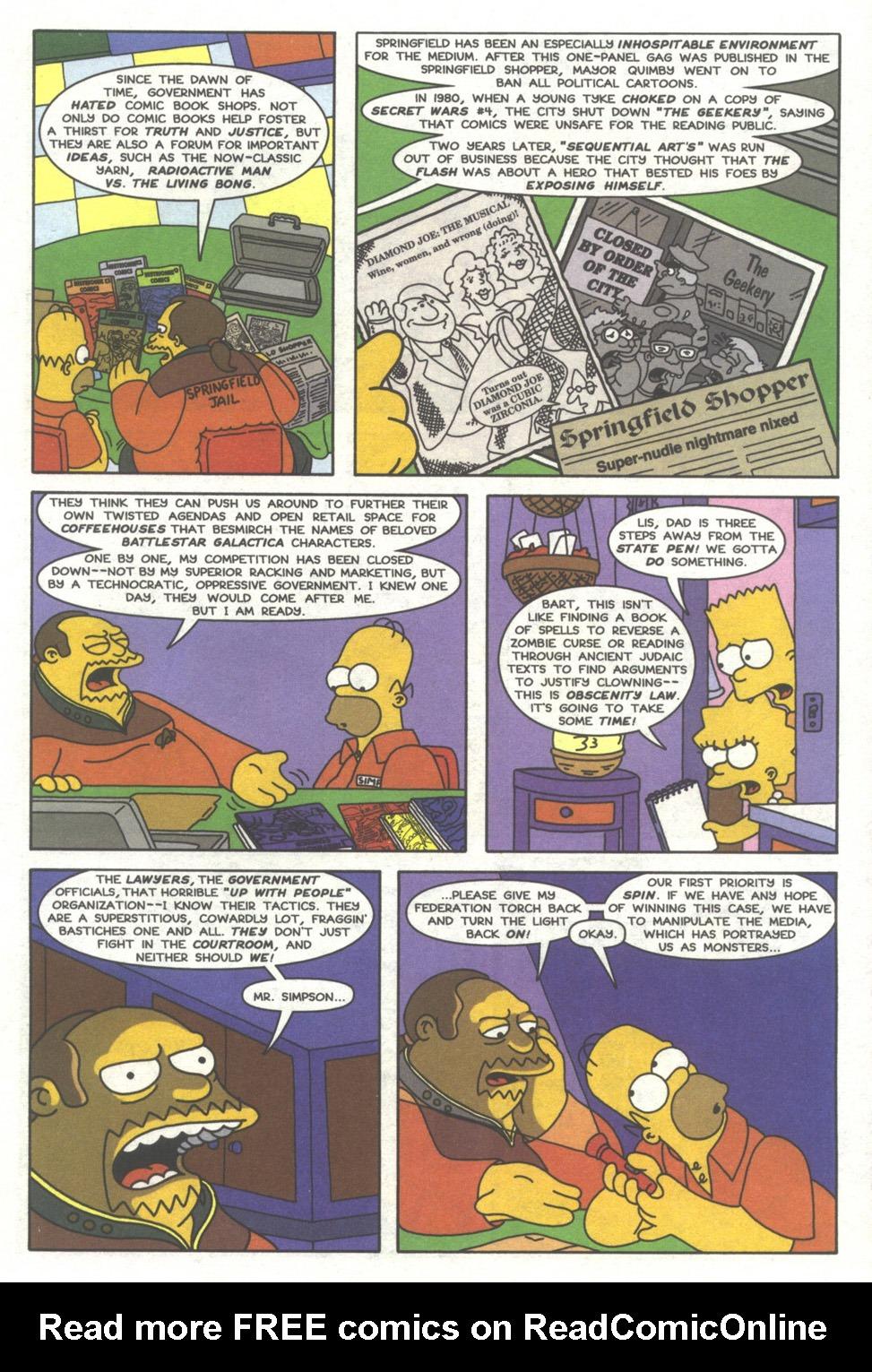 Read online Simpsons Comics comic -  Issue #39 - 16
