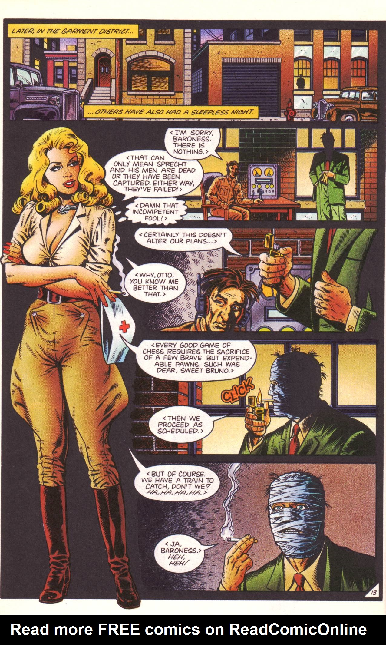 Read online Sting of The Green Hornet comic -  Issue #3 - 14