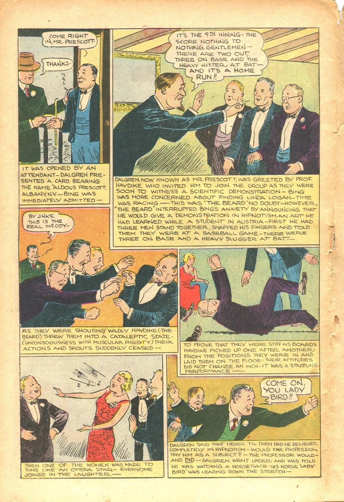 Read online Super-Magician Comics comic -  Issue #35 - 36