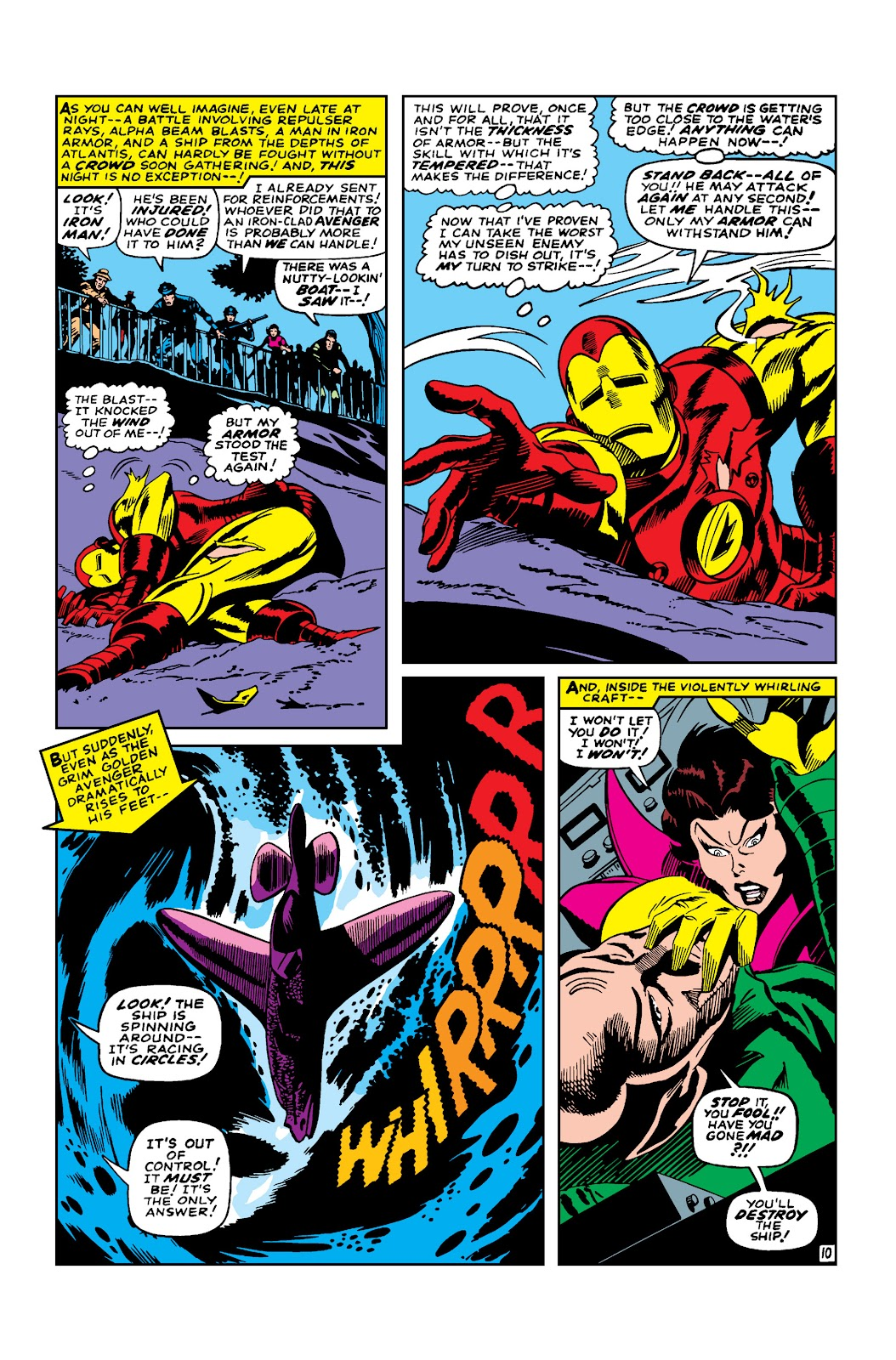 Read online Marvel Masterworks: The Invincible Iron Man comic -  Issue # TPB 3 (Part 4) - 12