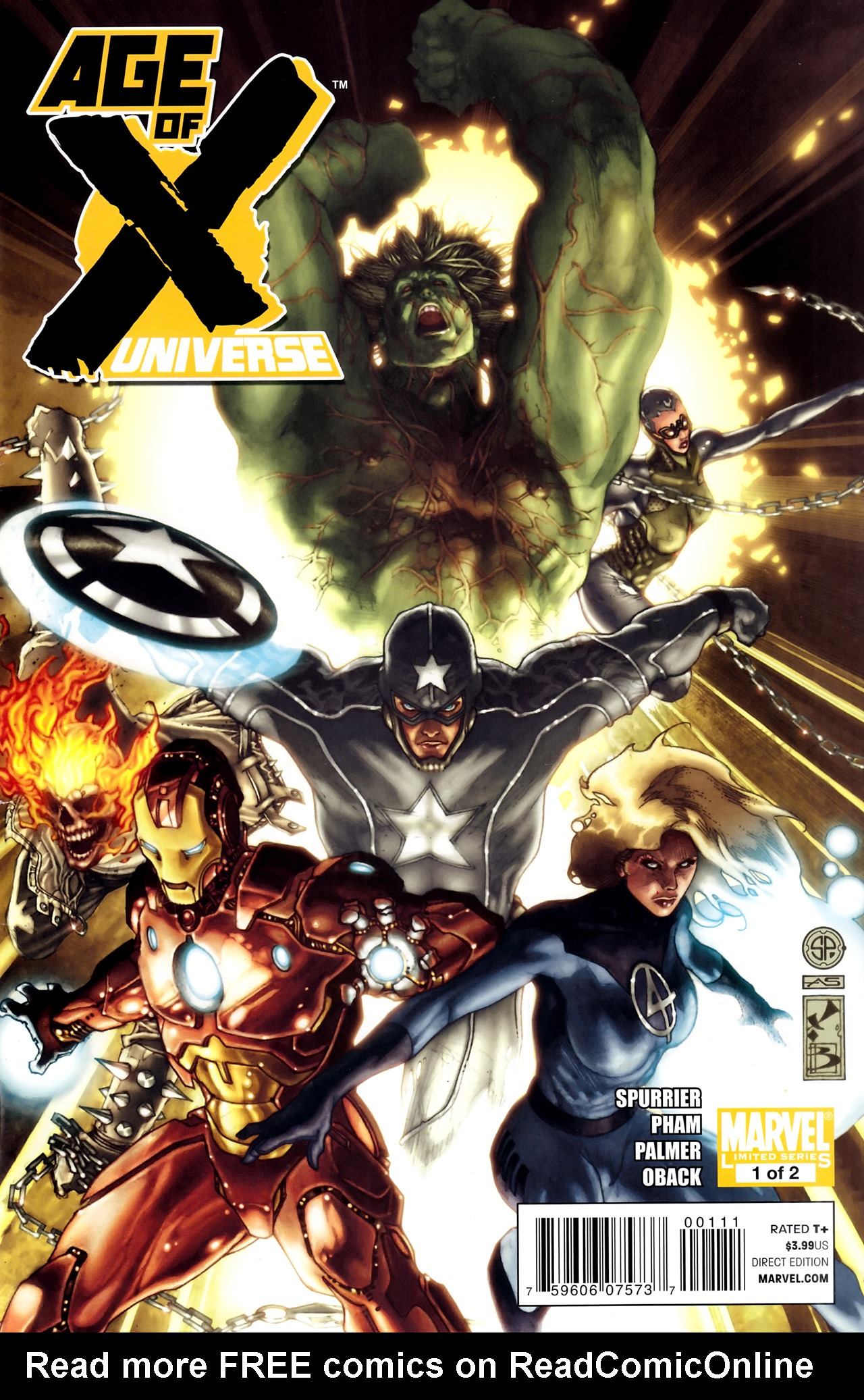 Read online Age of X: Universe comic -  Issue #1 - 1