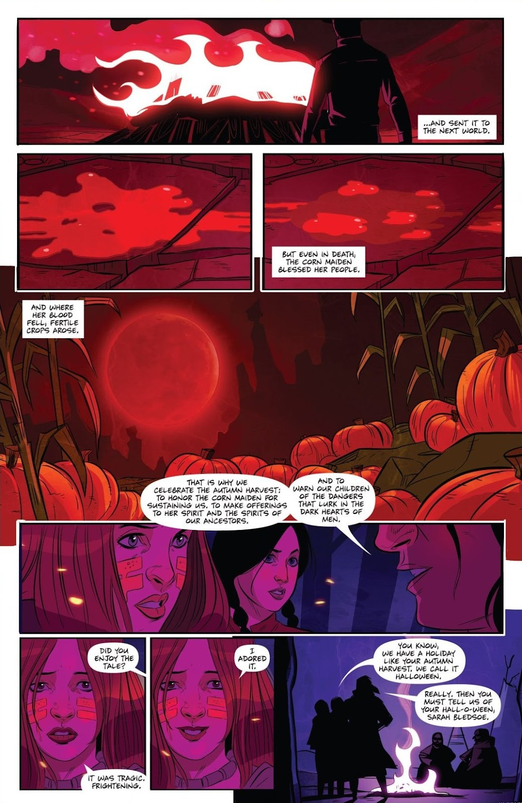 Read online Trick 'r Treat: Days of the Dead comic -  Issue # TPB - 50