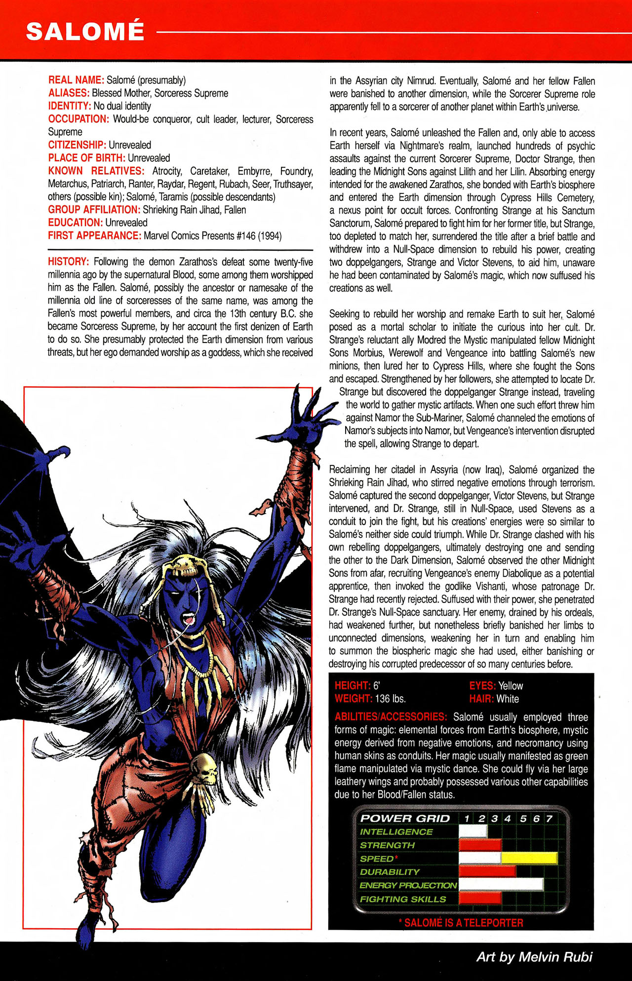 Read online All-New Official Handbook of the Marvel Universe A to Z comic -  Issue #9 - 40