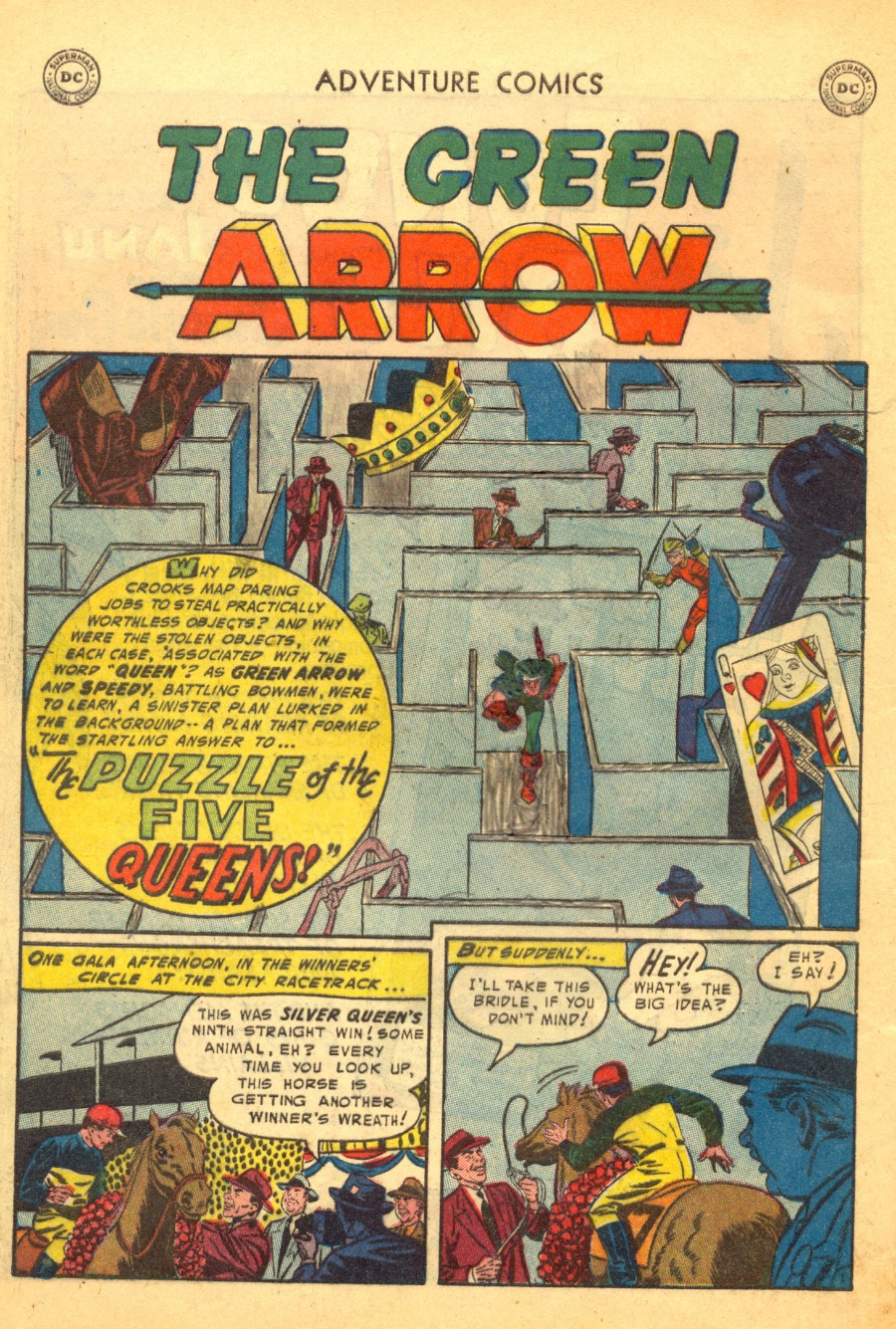 Read online Adventure Comics (1938) comic -  Issue #203 - 34