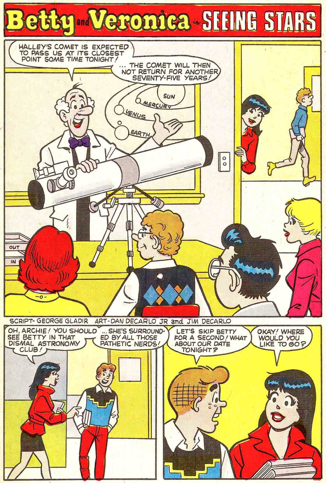 Read online Archie's Girls Betty and Veronica comic -  Issue #341 - 19