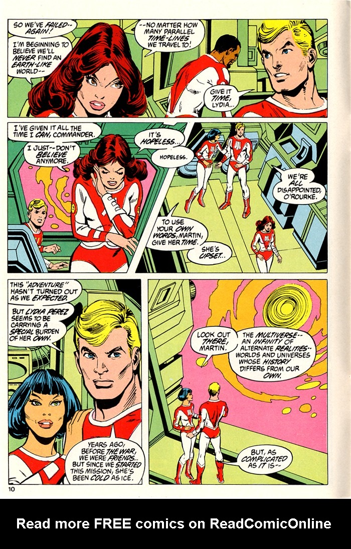 Read online Atari Force (1982) comic -  Issue #5 - 12
