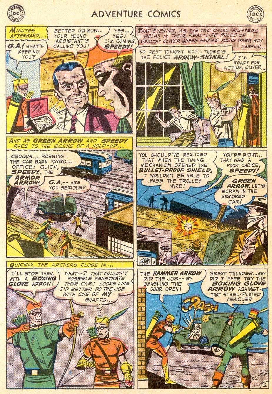 Read online Adventure Comics (1938) comic -  Issue #232 - 28