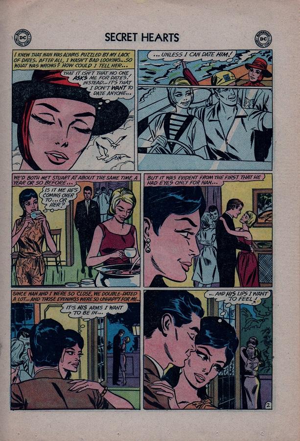 Read online Secret Hearts comic -  Issue #79 - 19