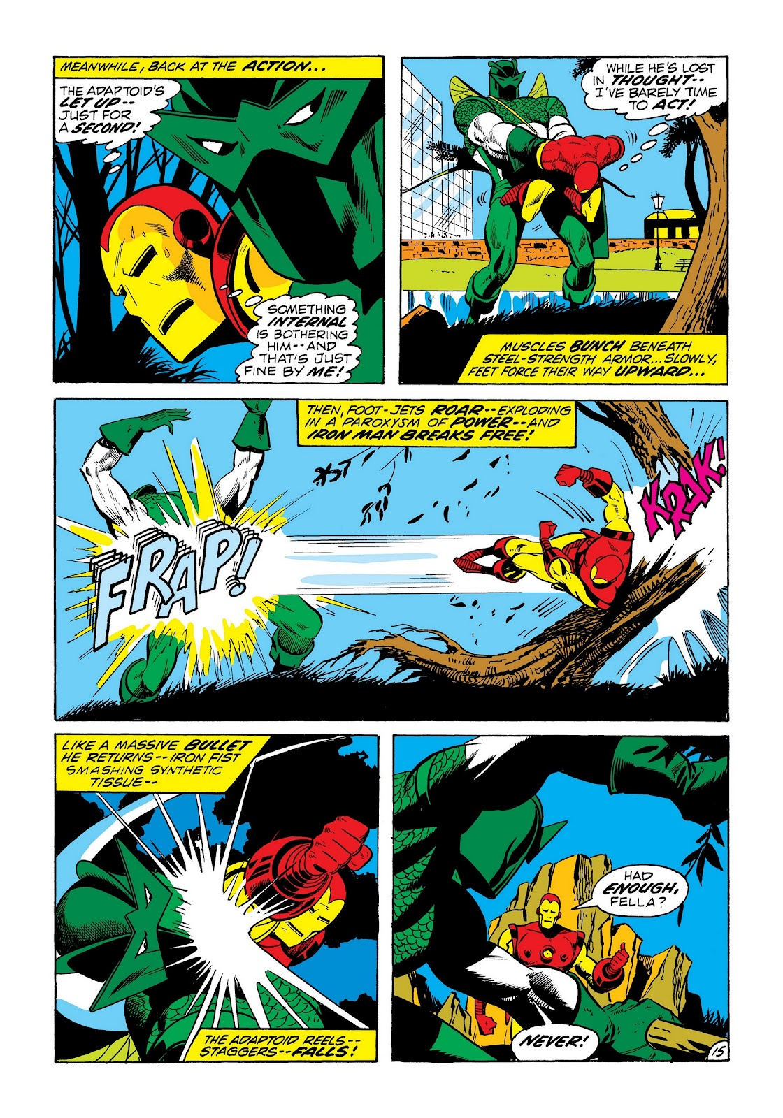 Read online Marvel Masterworks: The Invincible Iron Man comic -  Issue # TPB 8 (Part 3) - 25