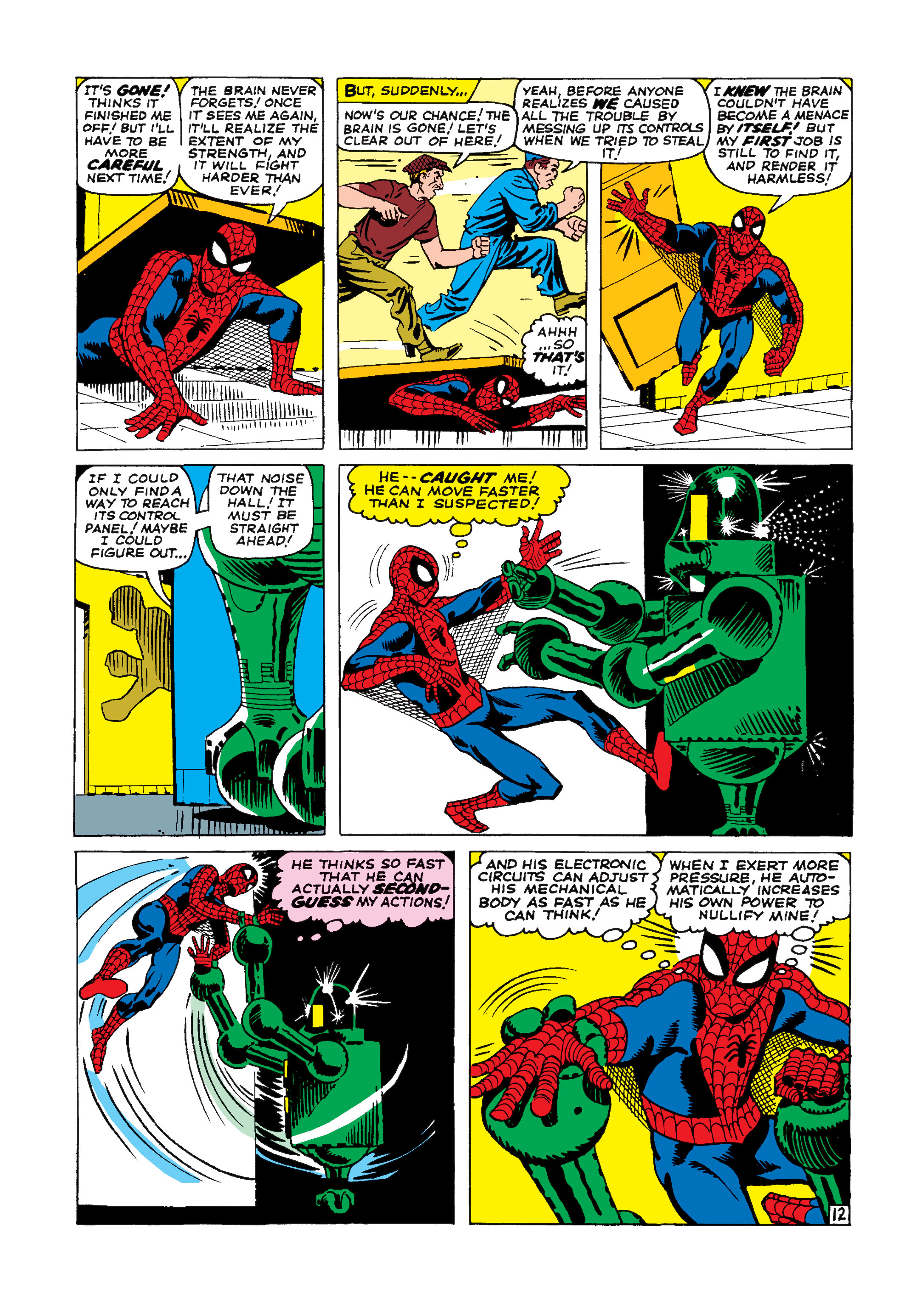 The Amazing Spider-Man (1963) 8 Page 12