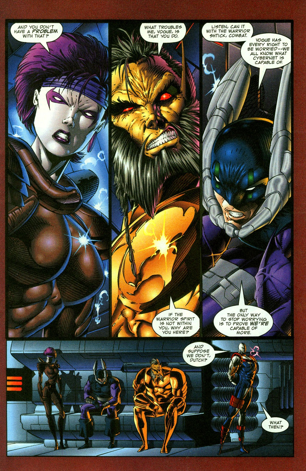 Read online Youngblood GT Interactive Ultra Game Players Special Edition comic -  Issue # Full - 5
