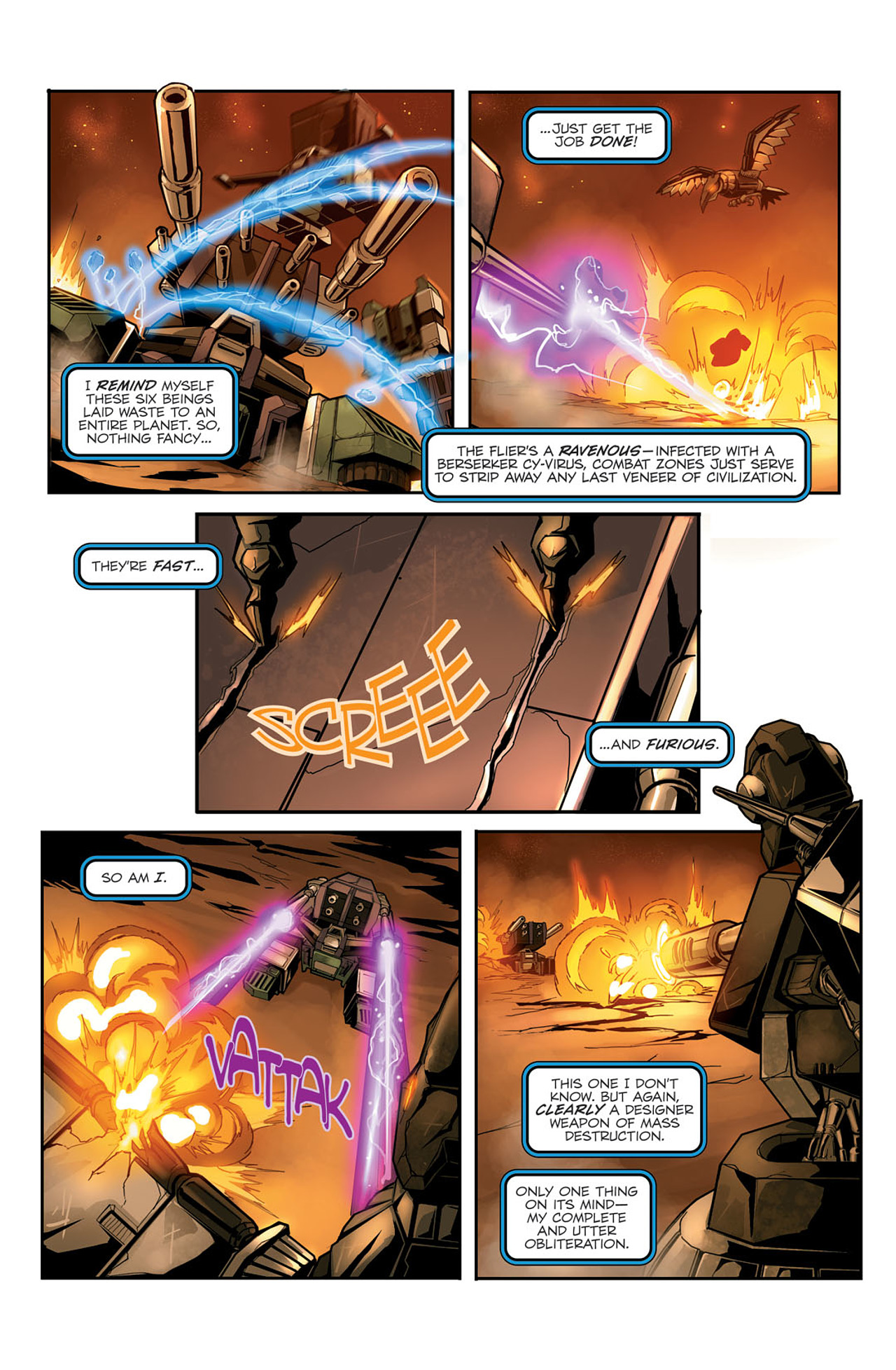 Read online Transformers Spotlight: Sixshot comic -  Issue # Full - 17