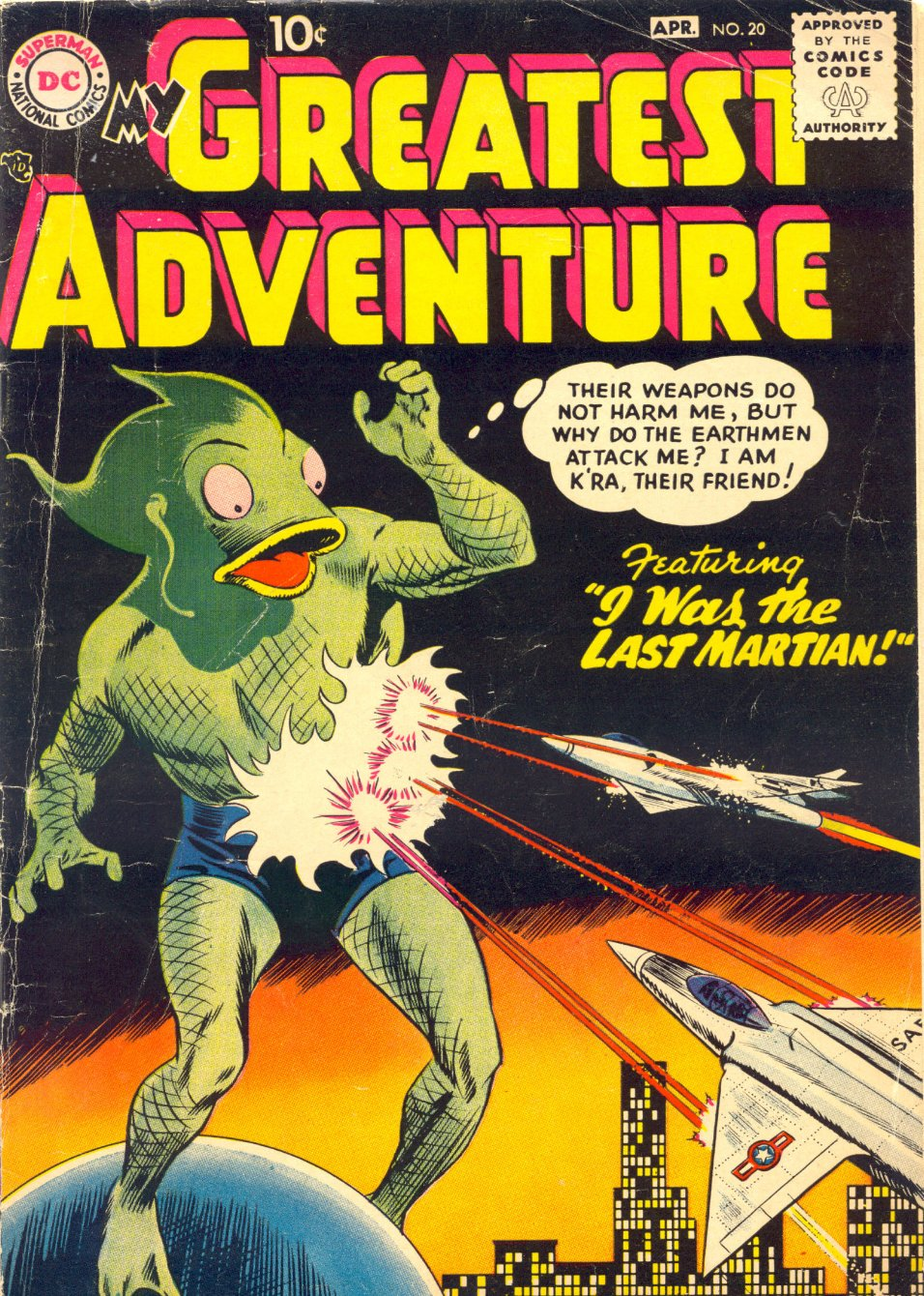 My Greatest Adventure (1955) issue 20 - Page 1