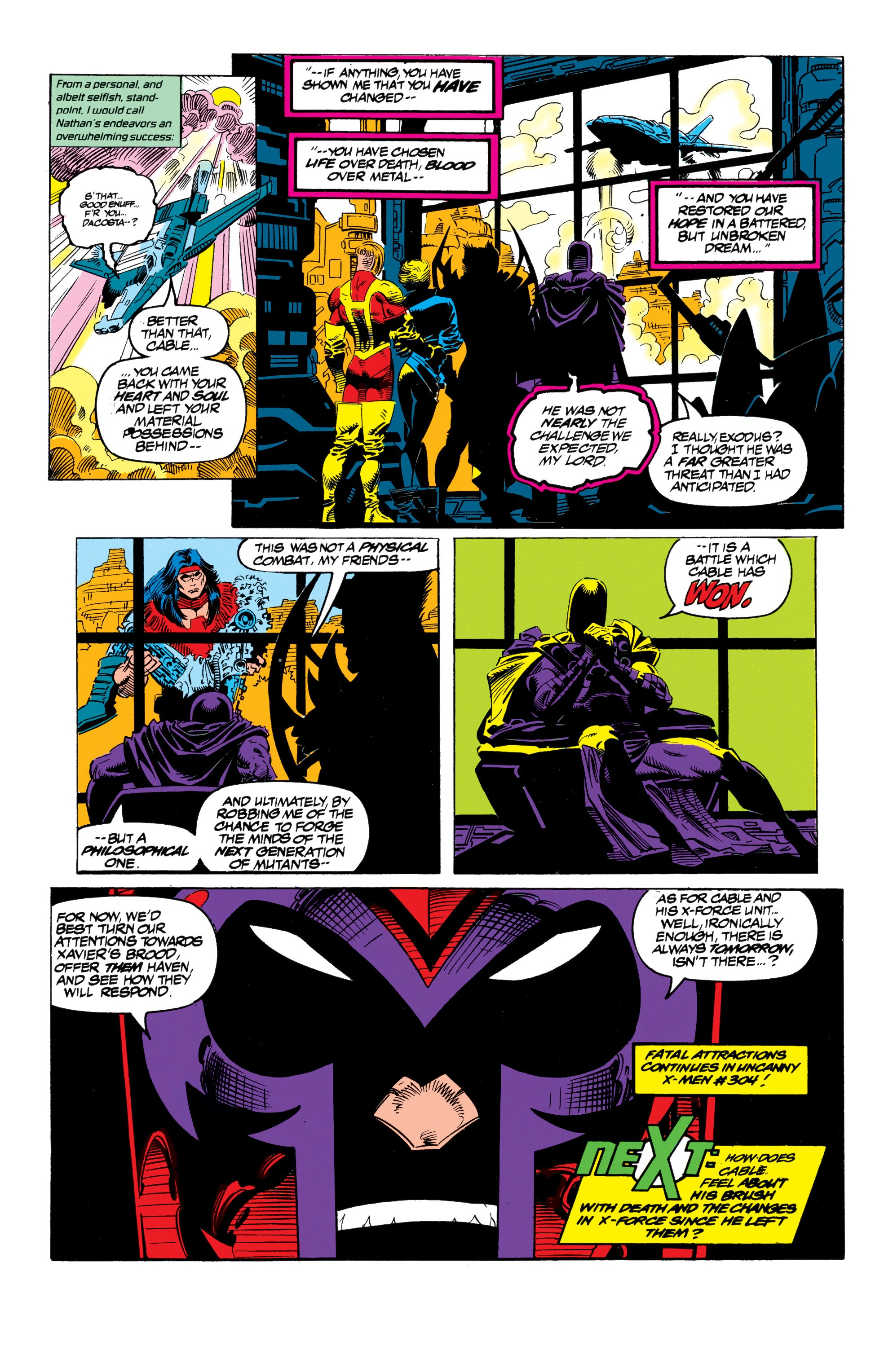 X-Men Milestones: Fatal Attractions issue TPB_(Part_3) - Page 1